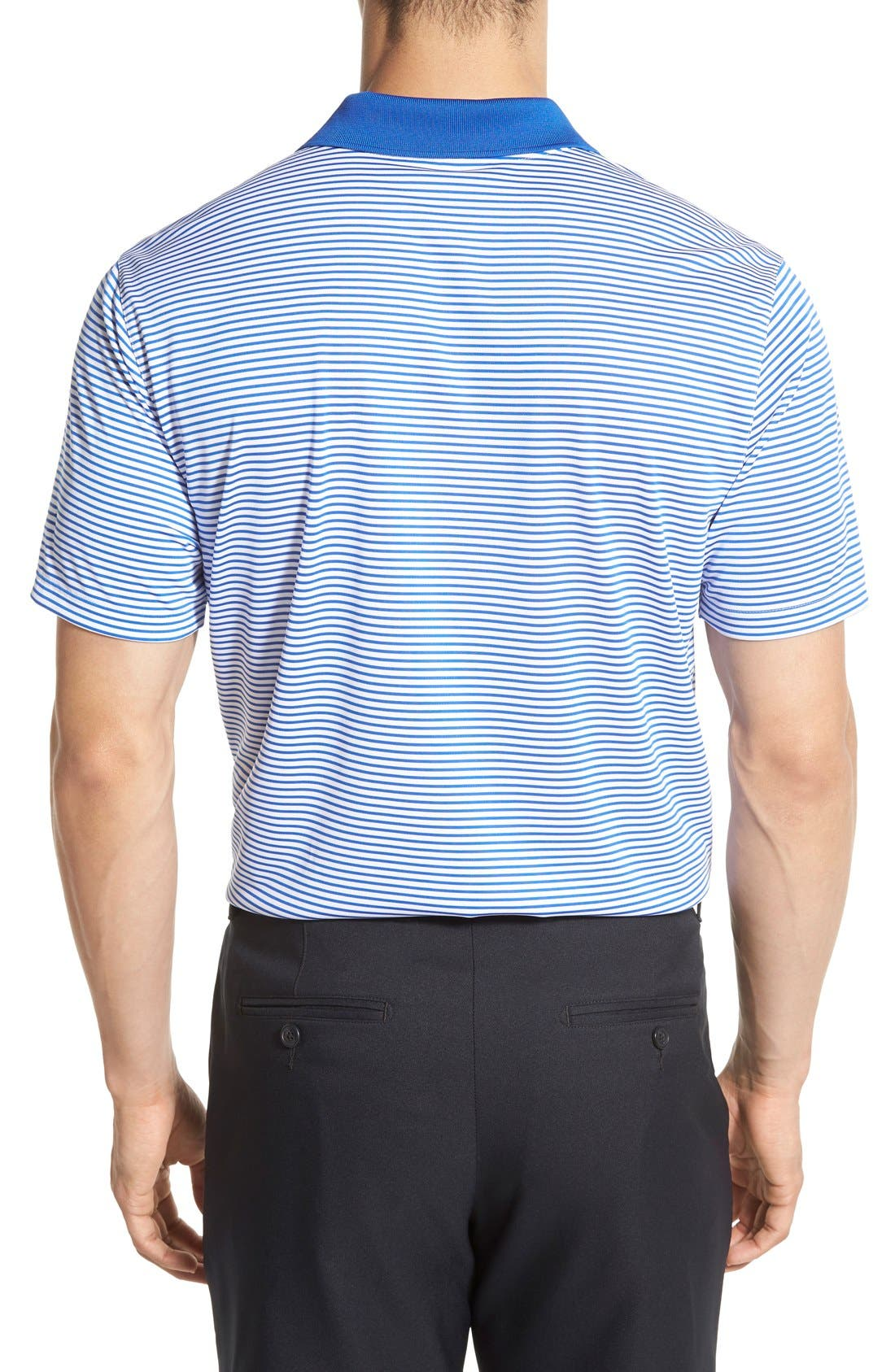'Victory Stripe' Dri-FIT Golf Polo,                             Alternate thumbnail 14, color,