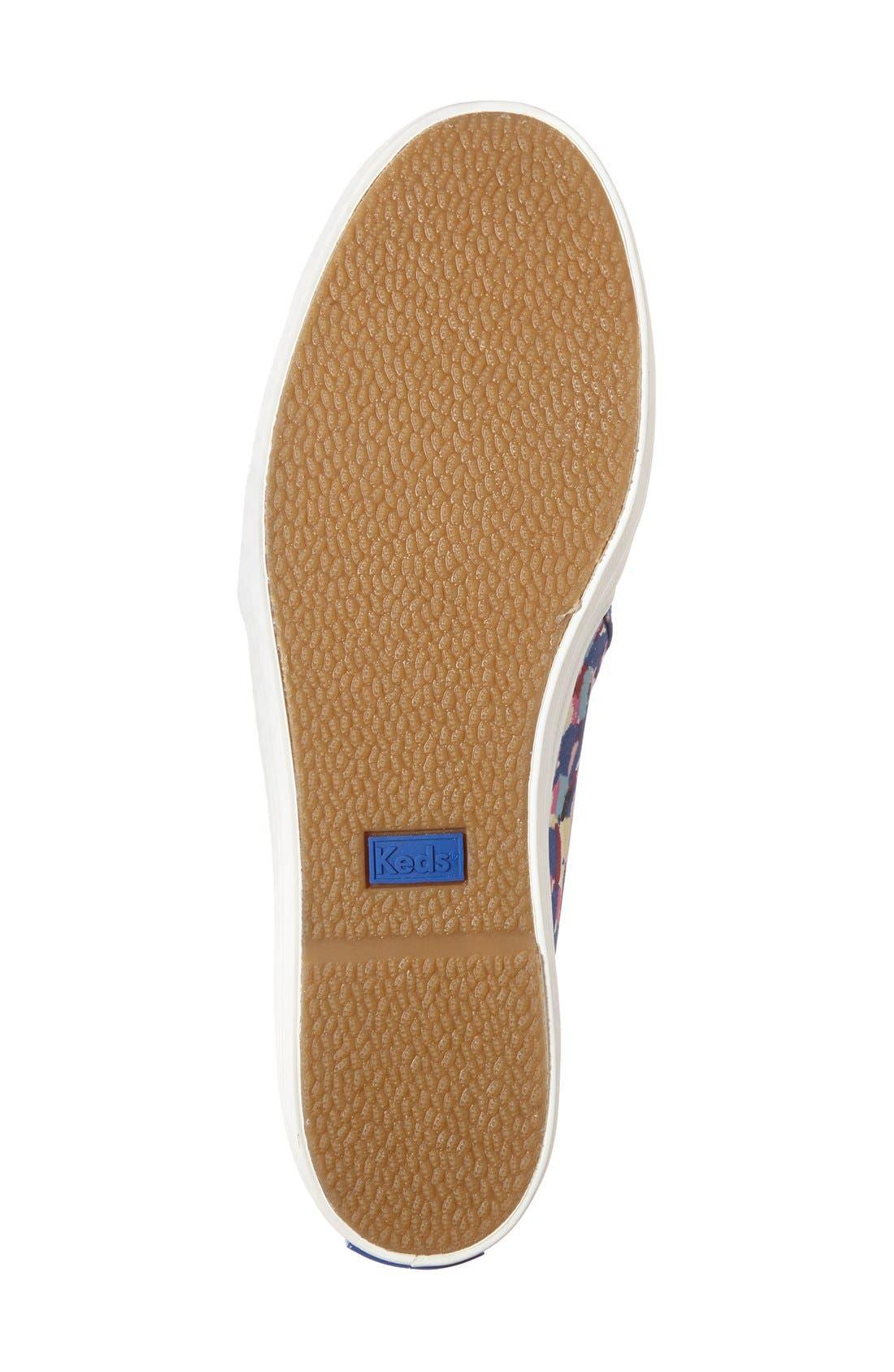 Triple Decker Slip-On Platform Sneaker,                             Alternate thumbnail 36, color,