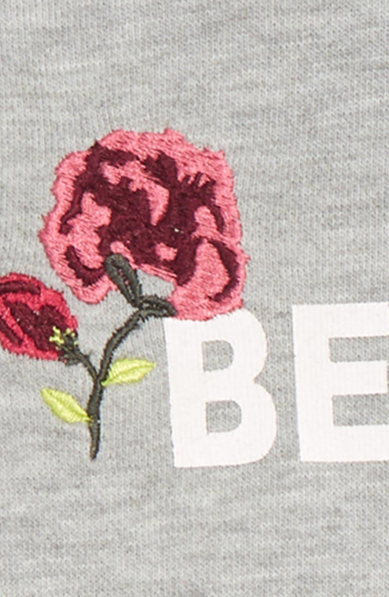 Besties Cold Shoulder Sweatshirt & Jeans Set,                             Alternate thumbnail 2, color,                             LIGHT BLUE