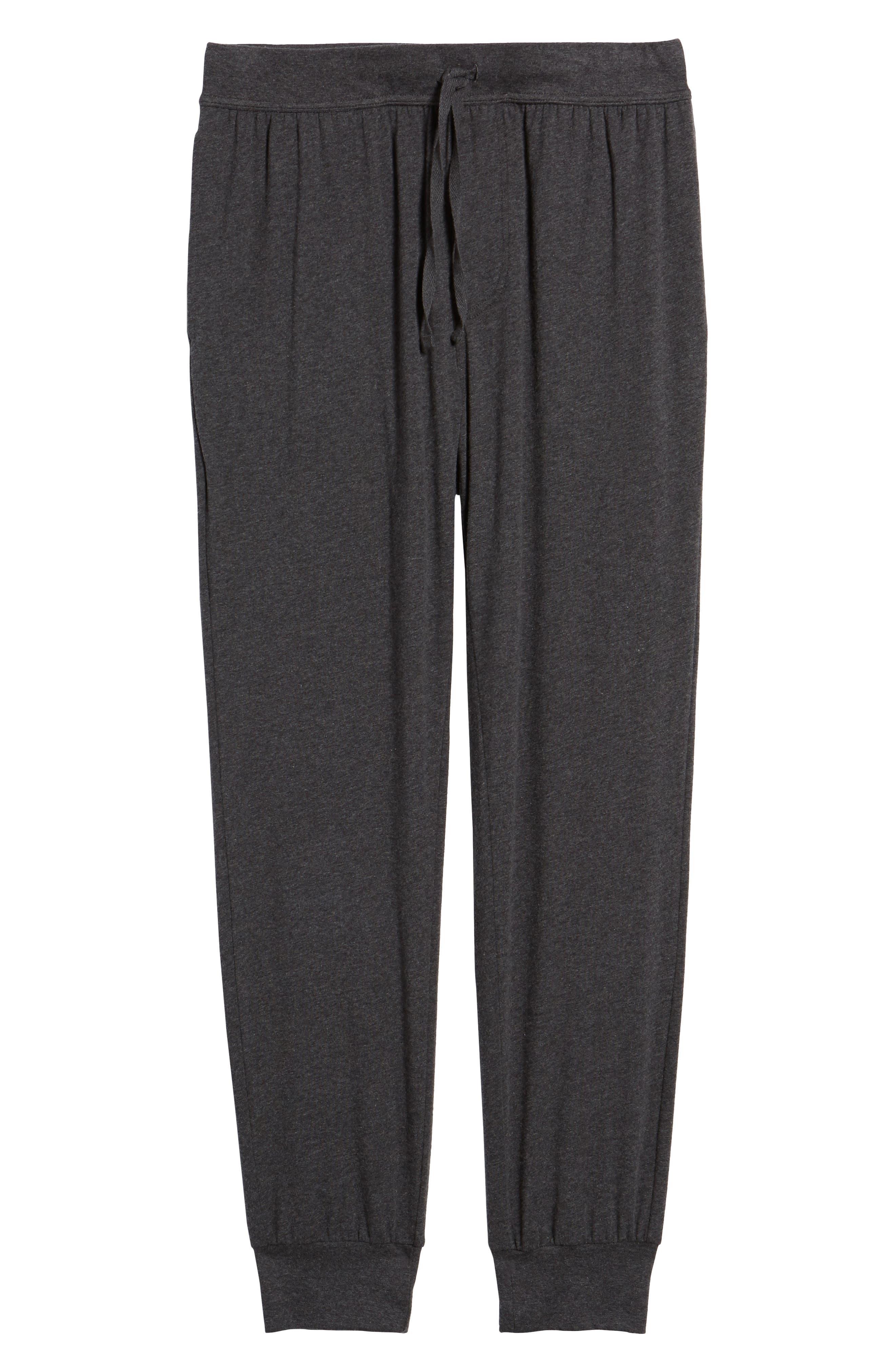 Stretch Cotton Lounge Pants,                             Alternate thumbnail 6, color,                             021