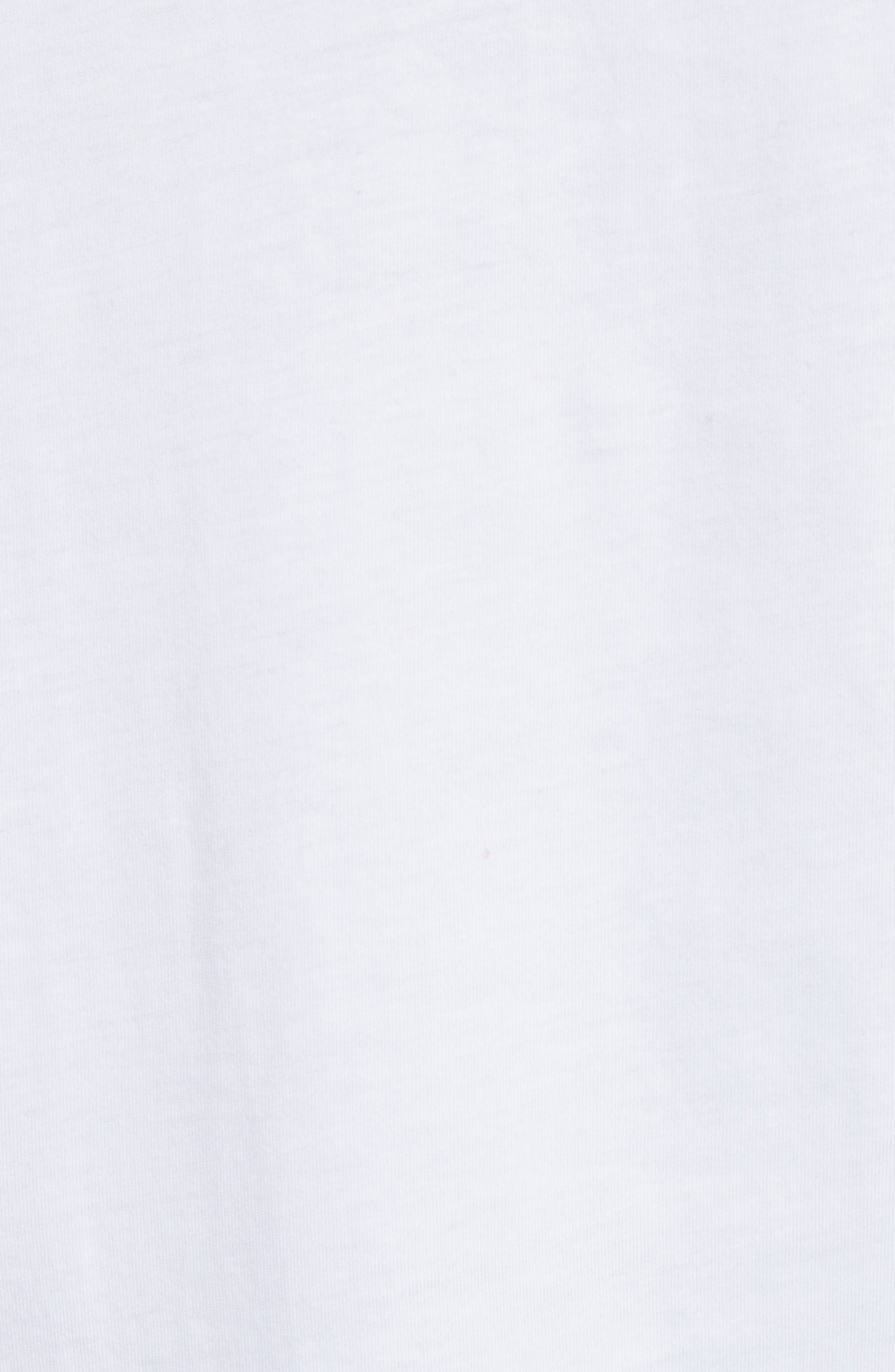 Oversize T-Shirt,                             Alternate thumbnail 5, color,                             WHITE