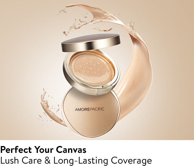 Perfect your canvas: lush care and long-lasting coverage.
