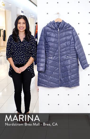 Hooded Puffer Jacket, sales video thumbnail