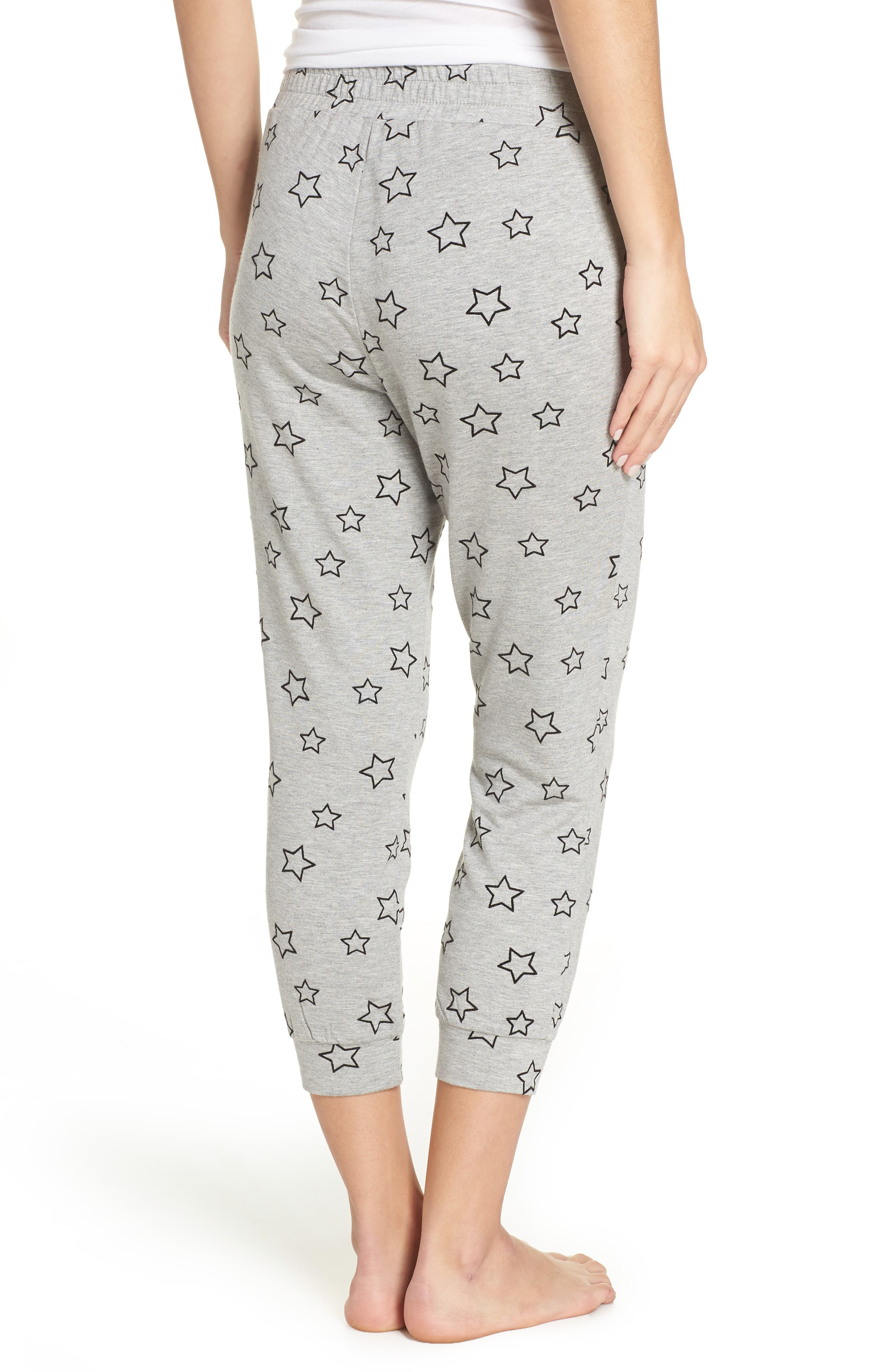 Seeing Stars Lounge Jogger Pants,                             Alternate thumbnail 2, color,                             HEATHER GREY