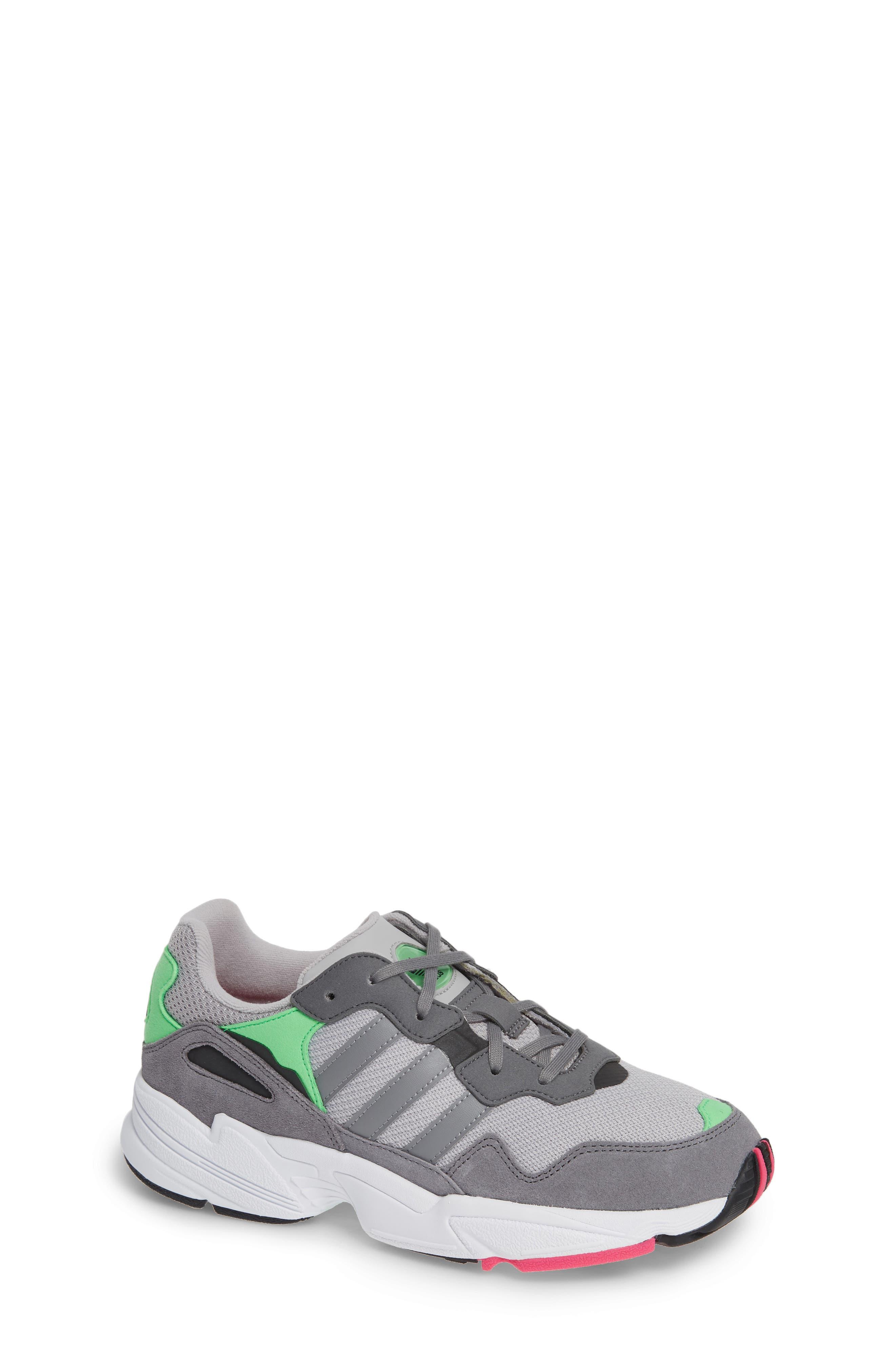 Toddler Adidas Yung96 Sneaker Size 10 M  Grey