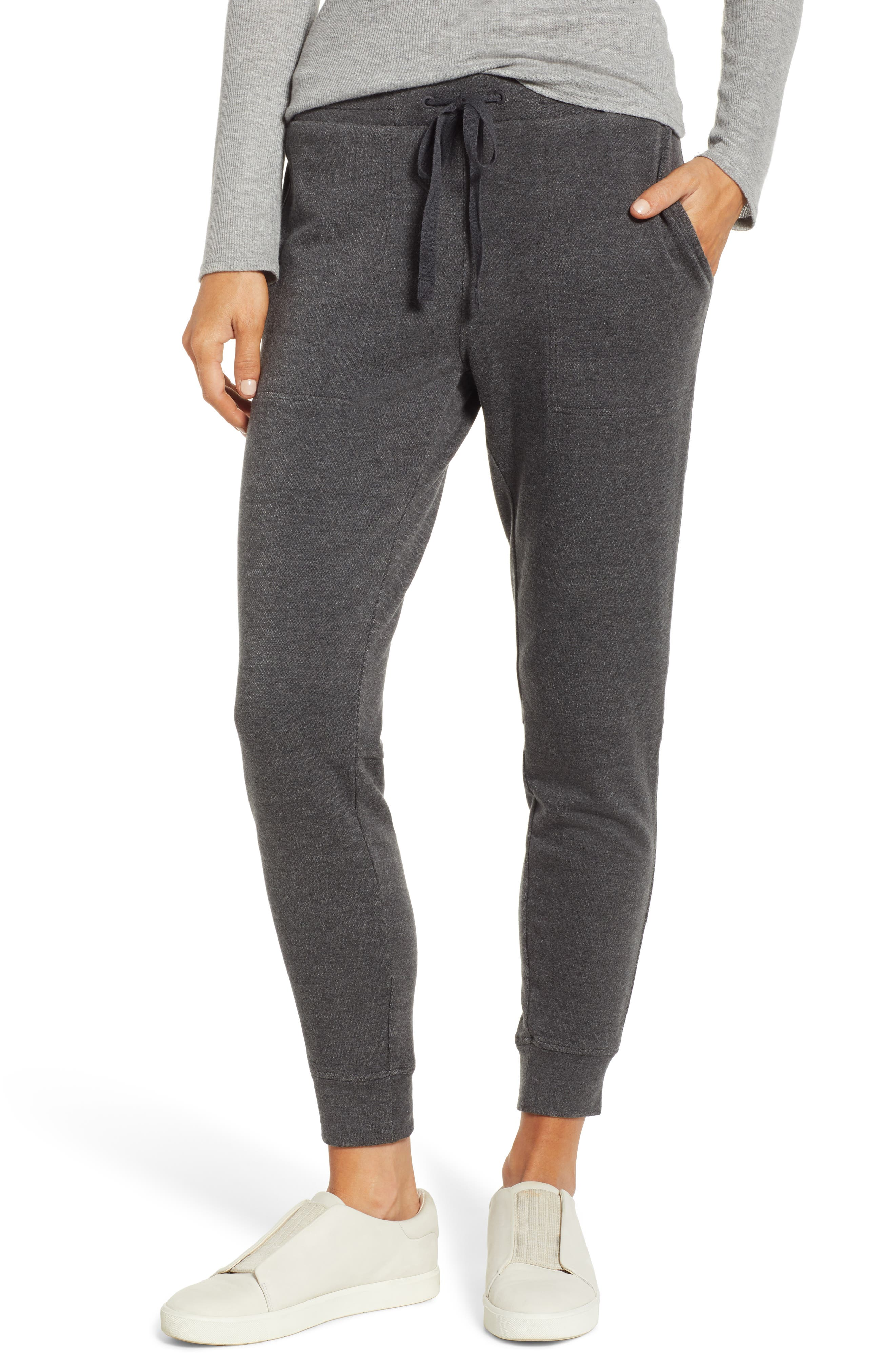 Zen Bounce Upstate Sweatpants,                             Main thumbnail 1, color,                             CHARCOAL