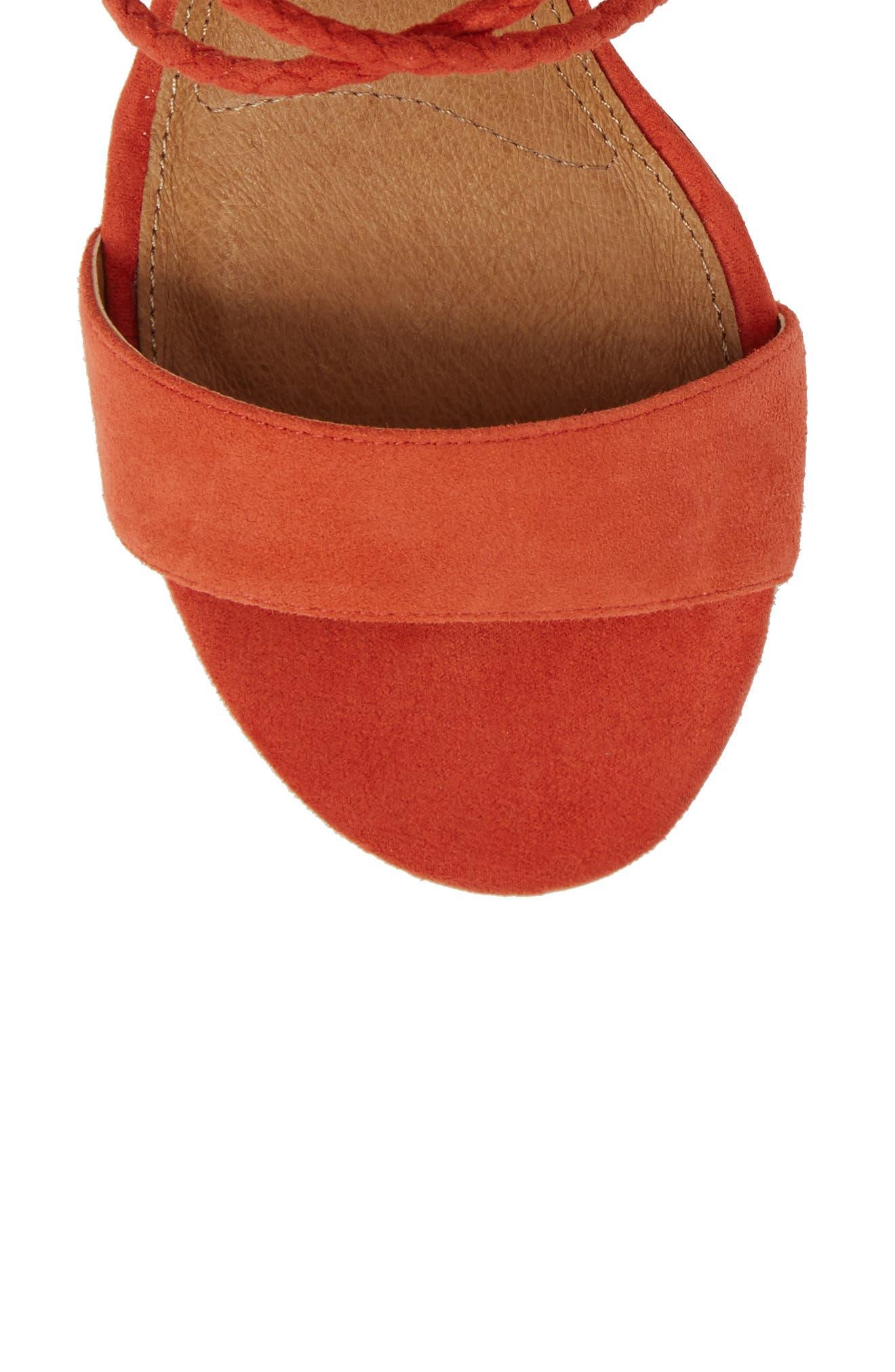 Nevada Lace-Up Sandal,                             Alternate thumbnail 5, color,                             800