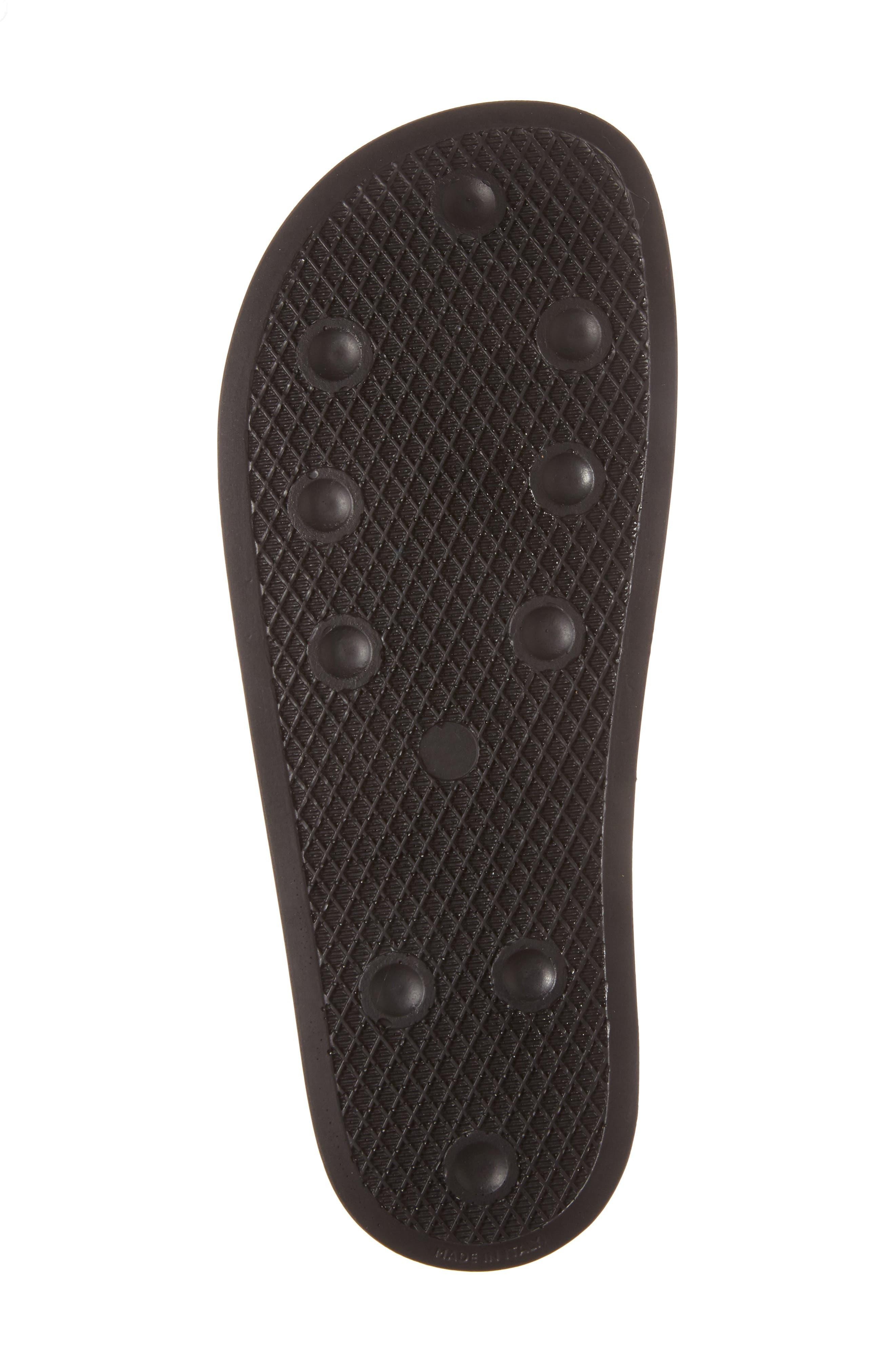RAF SIMONS,                             adidas by Raf Simons Bunny Adilette Slide Sandal,                             Alternate thumbnail 4, color,                             001