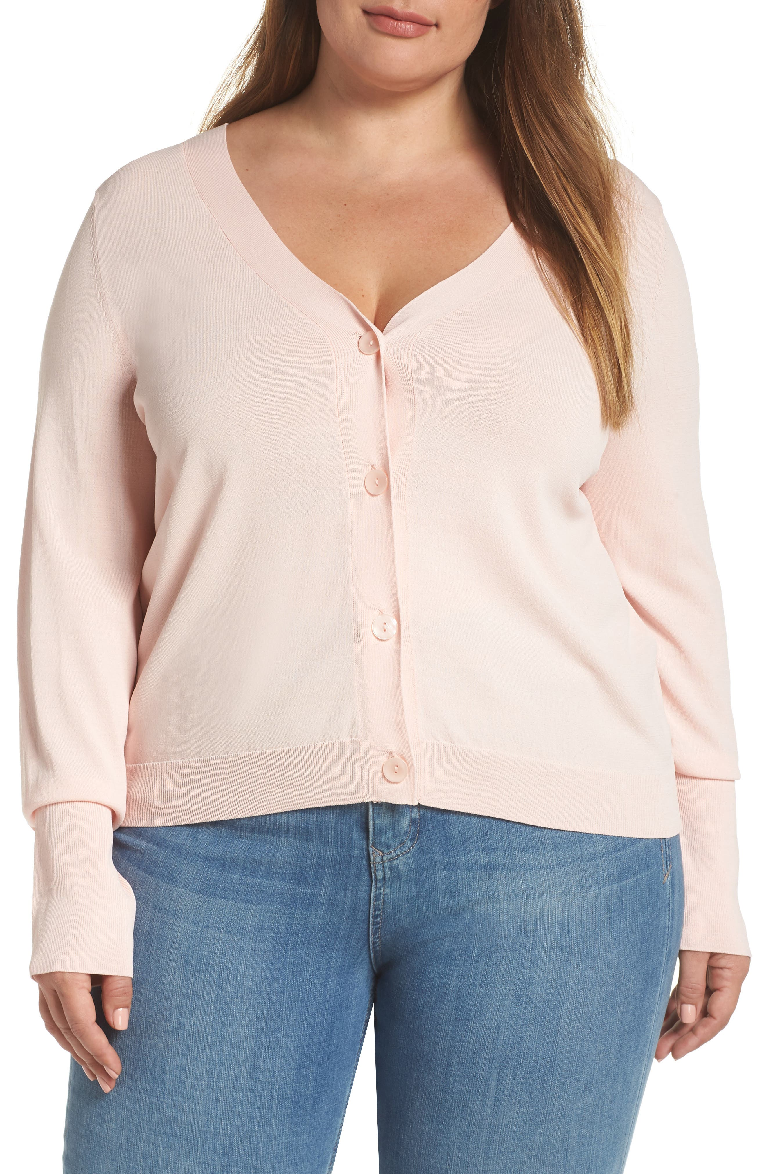 Plus Size Leith Cardigan, Pink