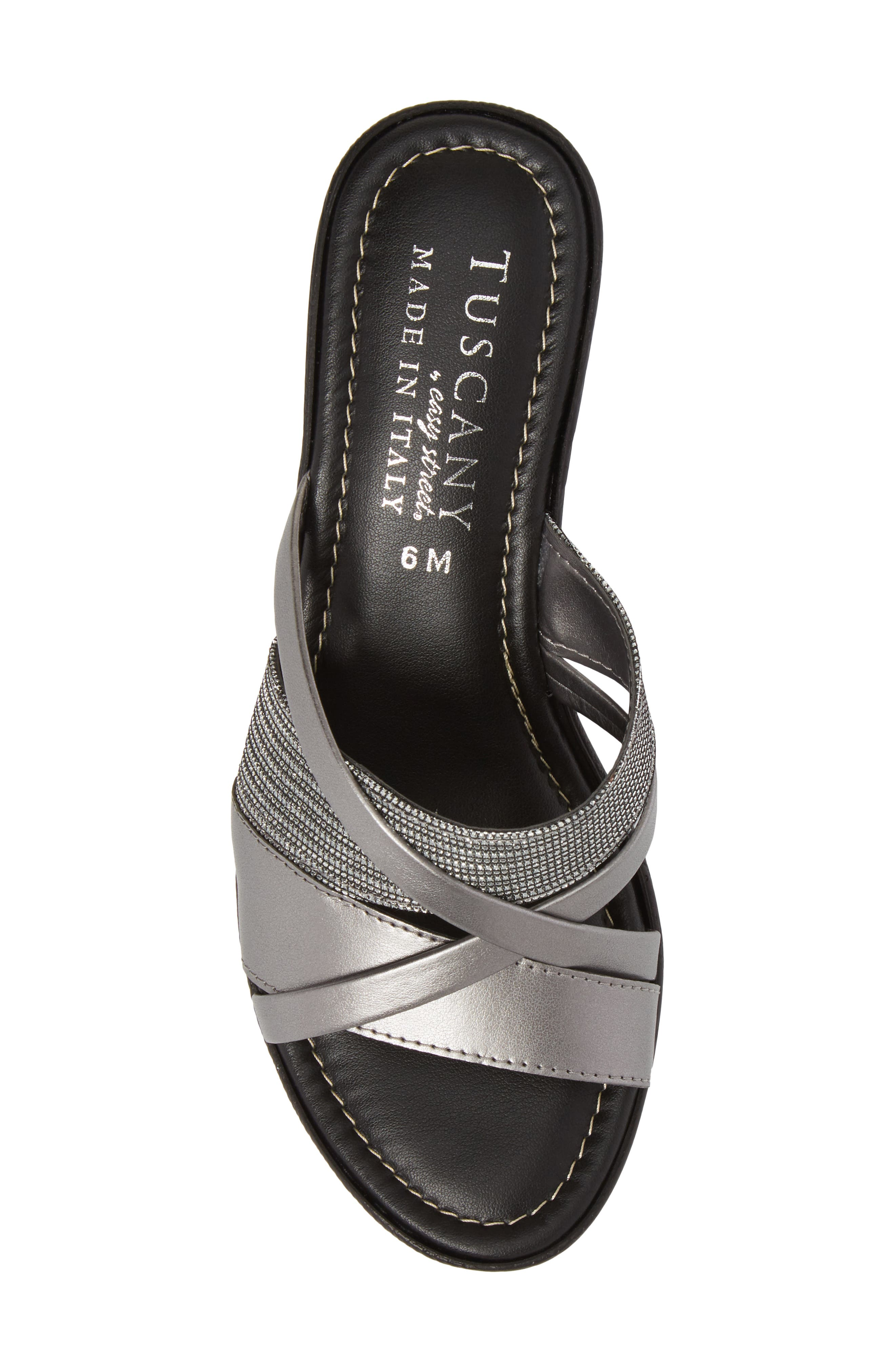by East Street<sup>®</sup> Lucette Strappy Wedge Mule,                             Alternate thumbnail 22, color,