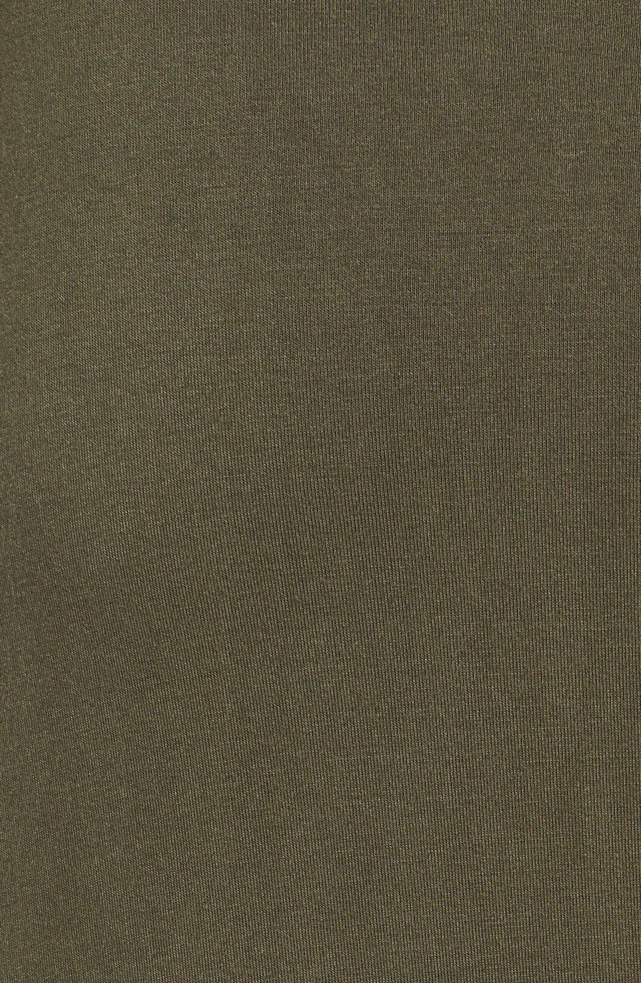Ruched Waist Side Slit Maxi Skirt,                             Alternate thumbnail 5, color,                             302
