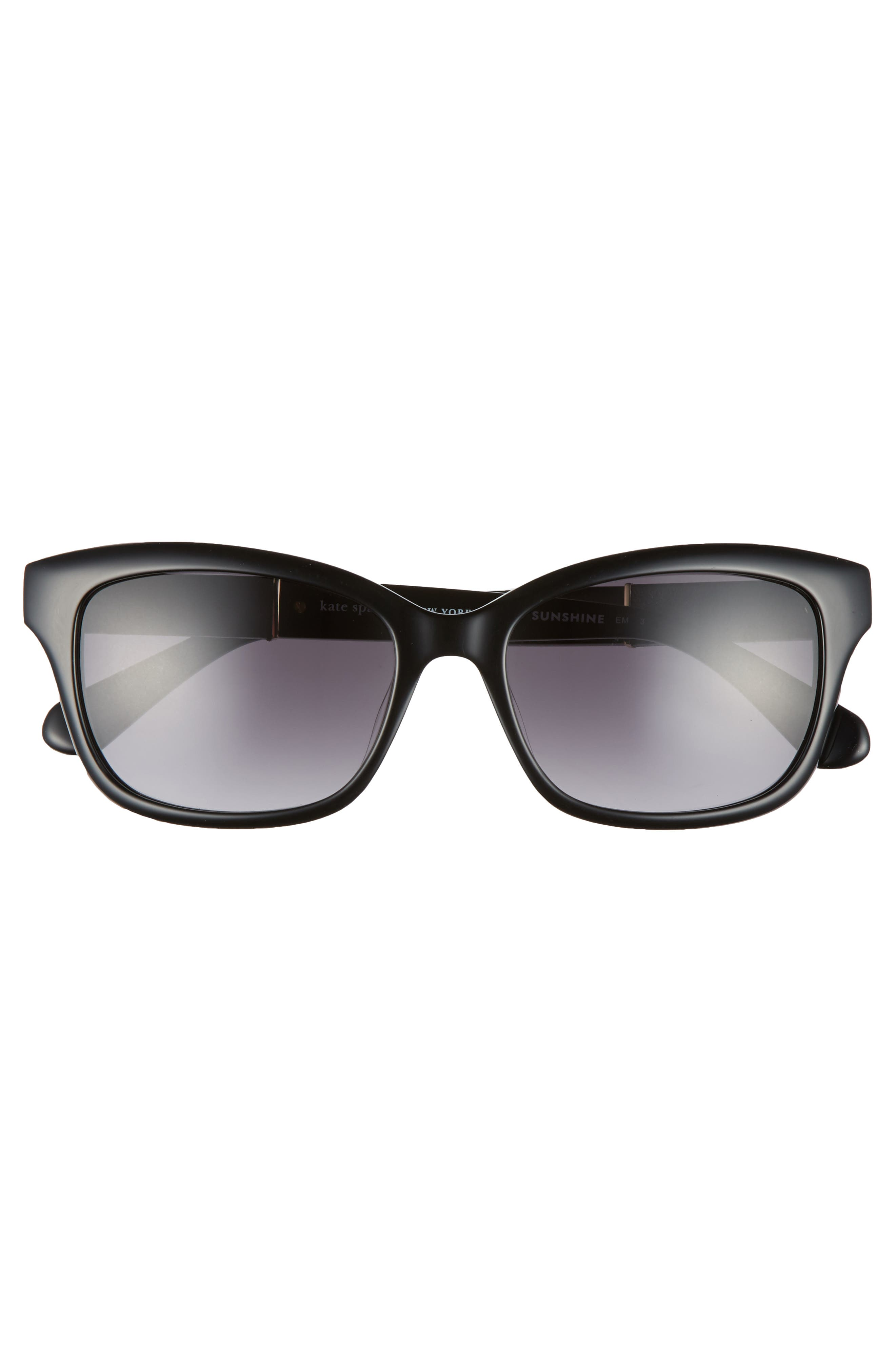 johanna 2 53mm gradient sunglasses,                             Alternate thumbnail 3, color,                             001