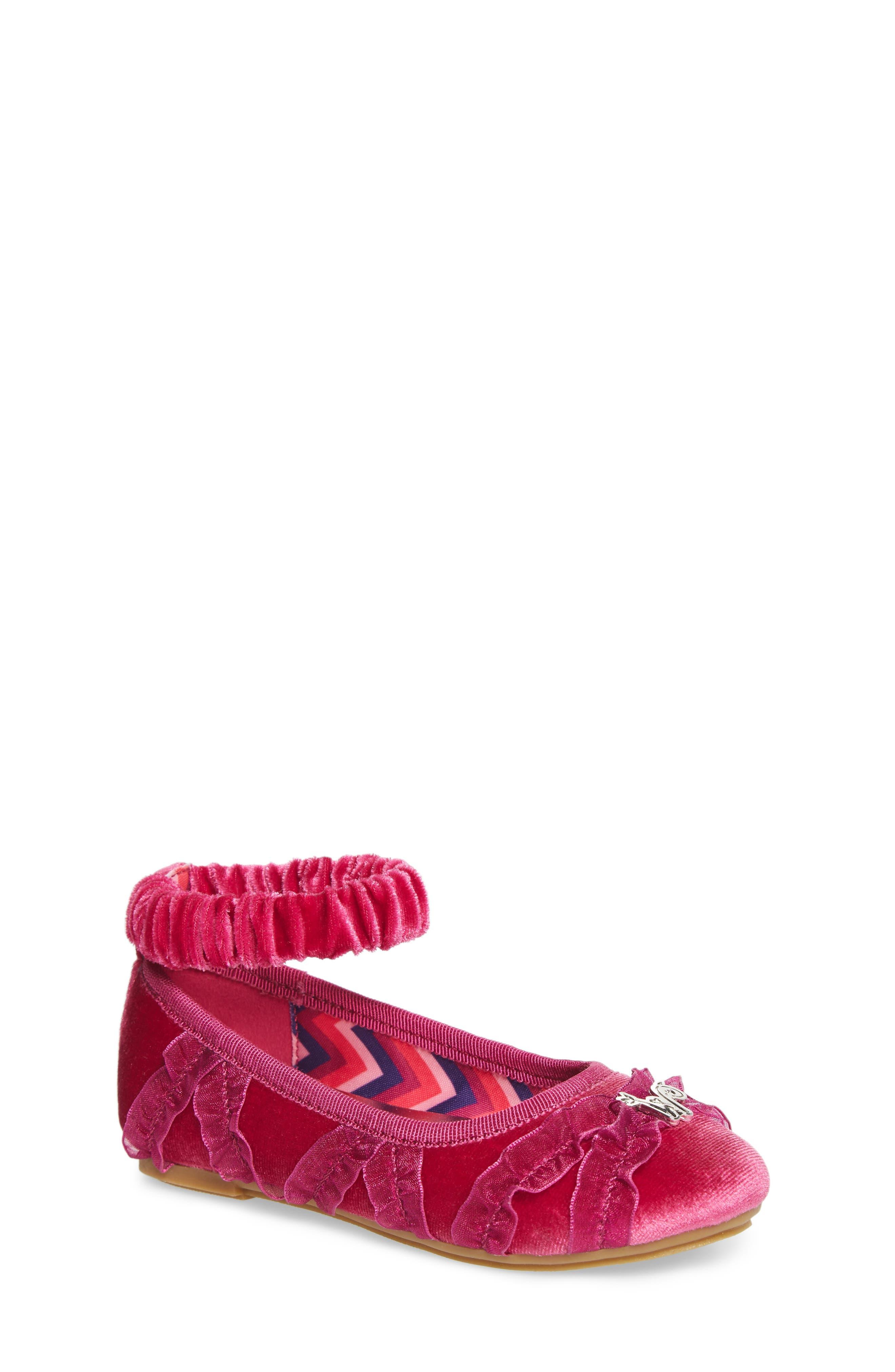 Emerson Ankle Strap Ballet Flat,                             Main thumbnail 1, color,