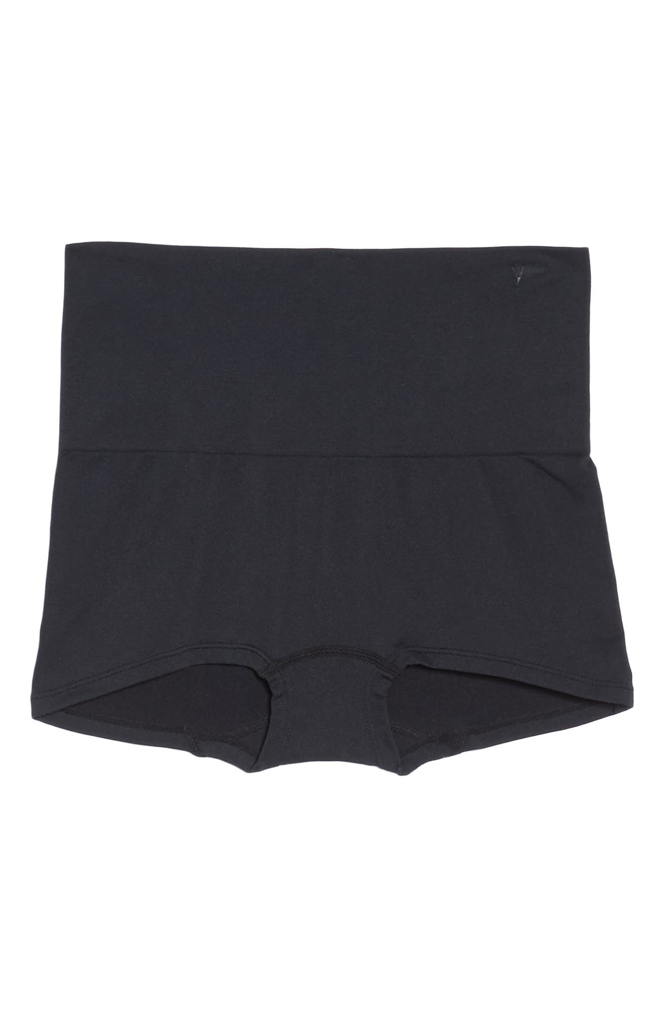 Ultralite Seamless Shaping Girlshorts,                             Alternate thumbnail 5, color,                             BLACK