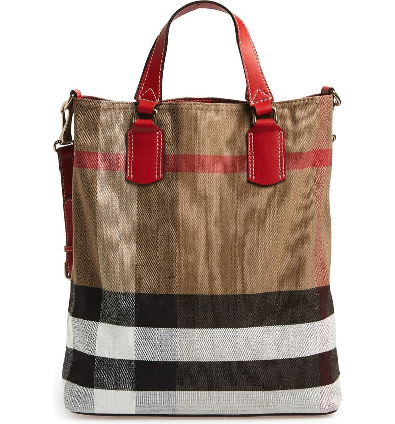 c0ede99d03c BURBERRY BRIT Burberry  Medium Tottenham  Canvas Tote, Main, ...