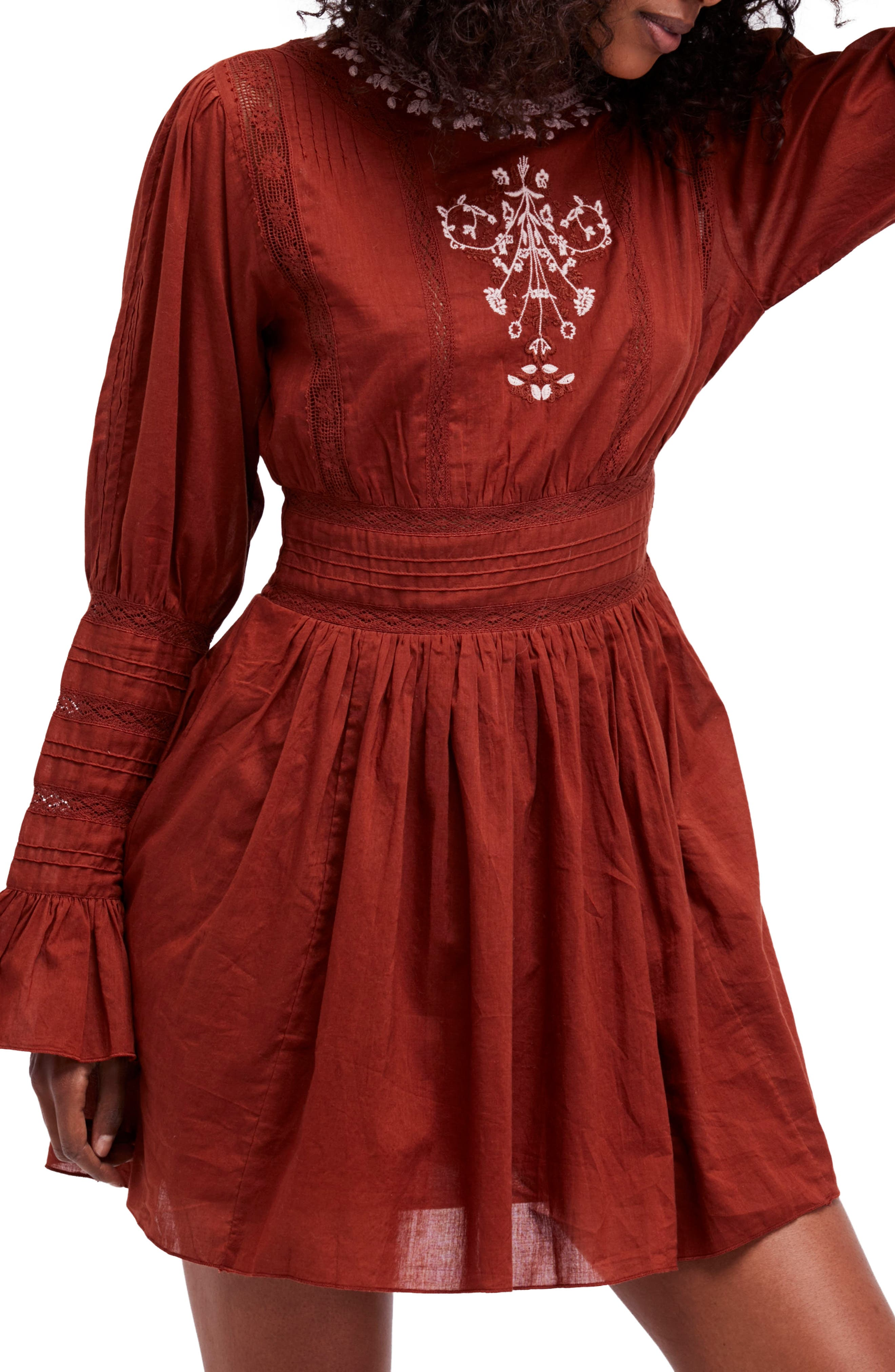 Victorian Minidress,                             Alternate thumbnail 5, color,                             625