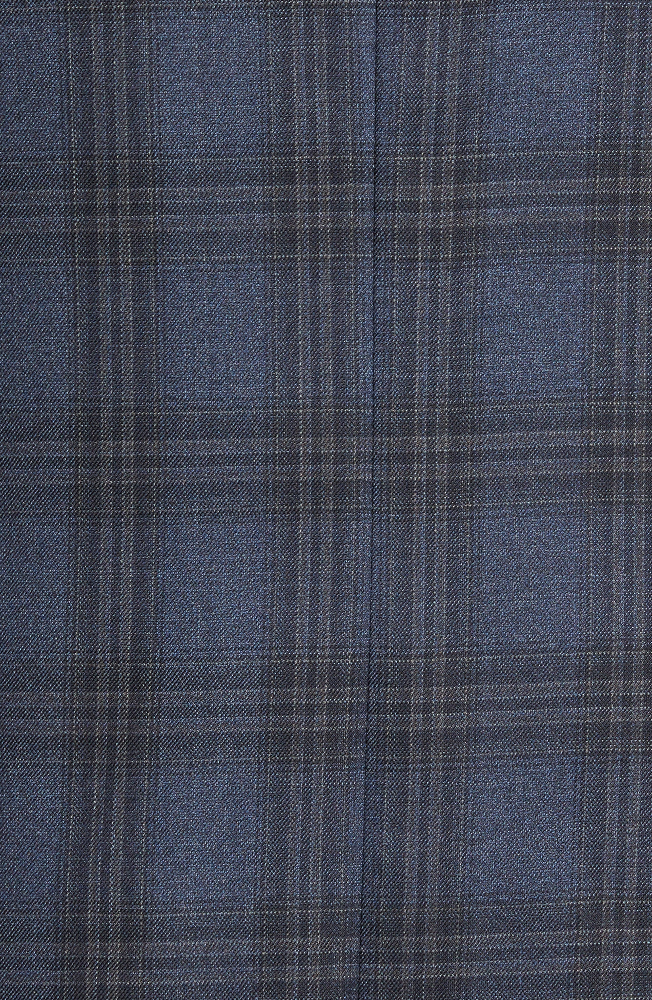 Flynn Classic Fit Plaid Wool Sport Coat,                             Alternate thumbnail 6, color,                             420