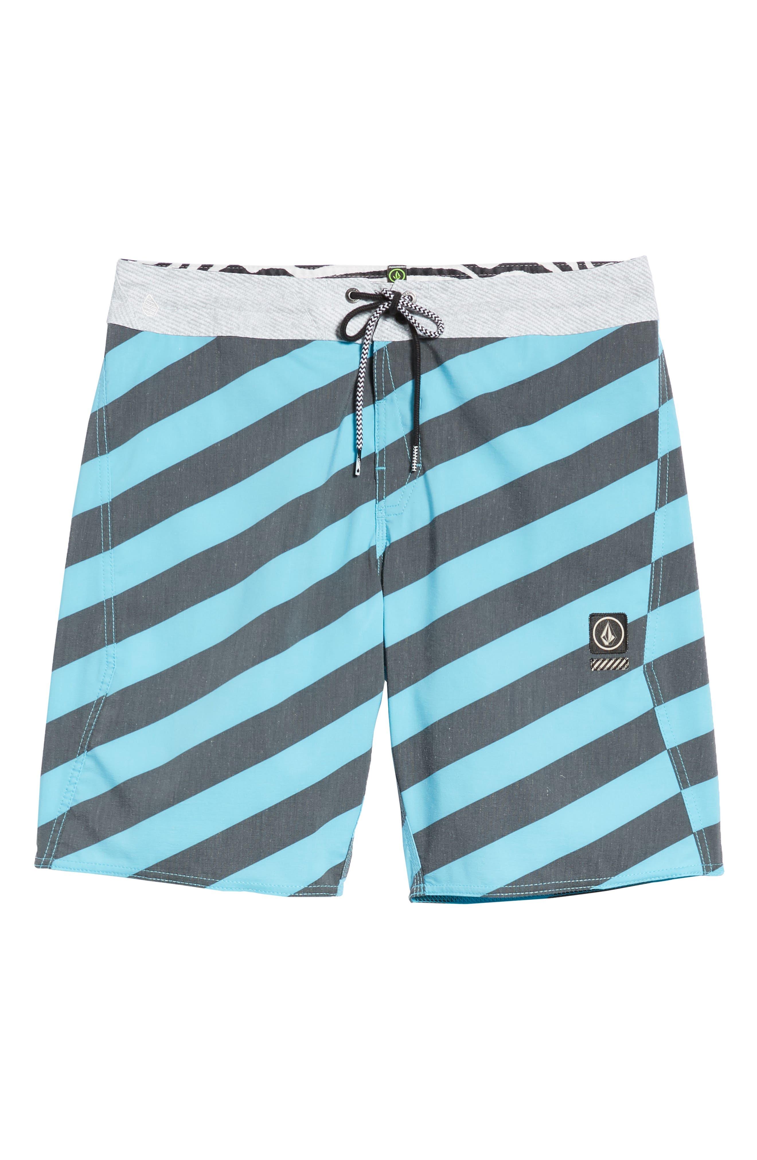 Stripey Stoney Boardshorts,                             Alternate thumbnail 6, color,                             470
