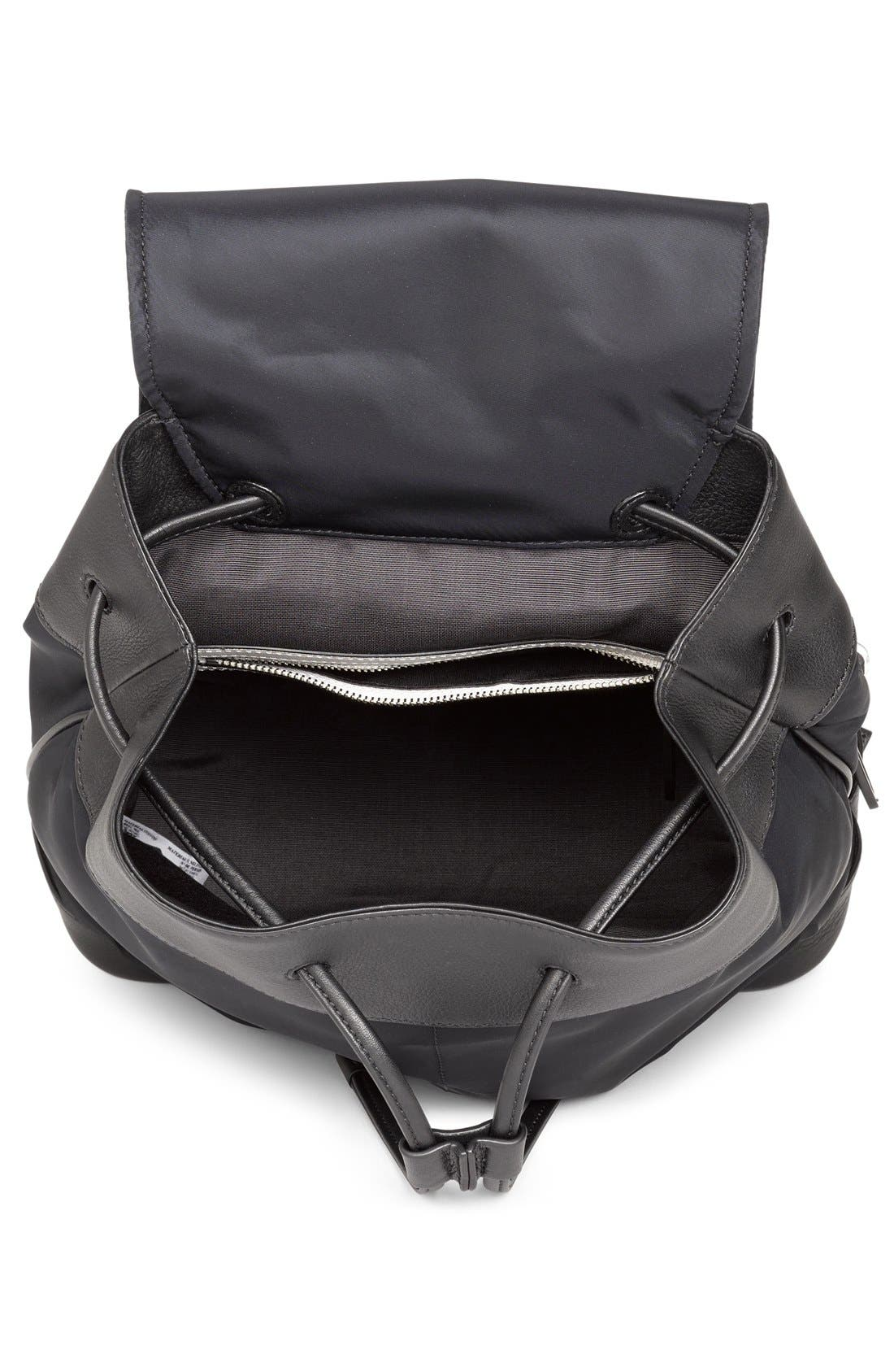 RAG & BONE,                             'Pilot' Nylon Backpack,                             Alternate thumbnail 4, color,                             002