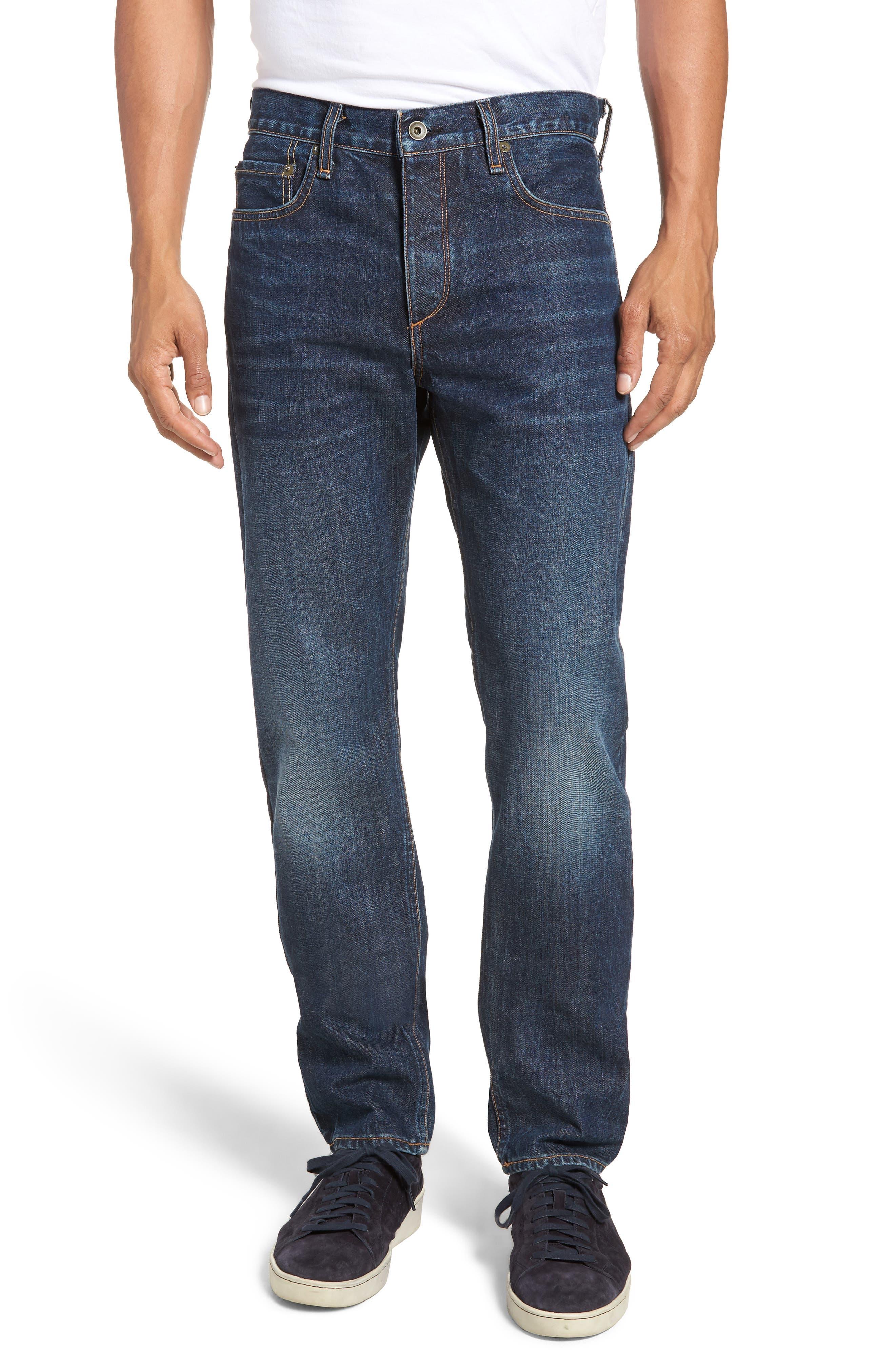 Fit 2 Slim Fit Jeans,                         Main,                         color, GLASTONBURY