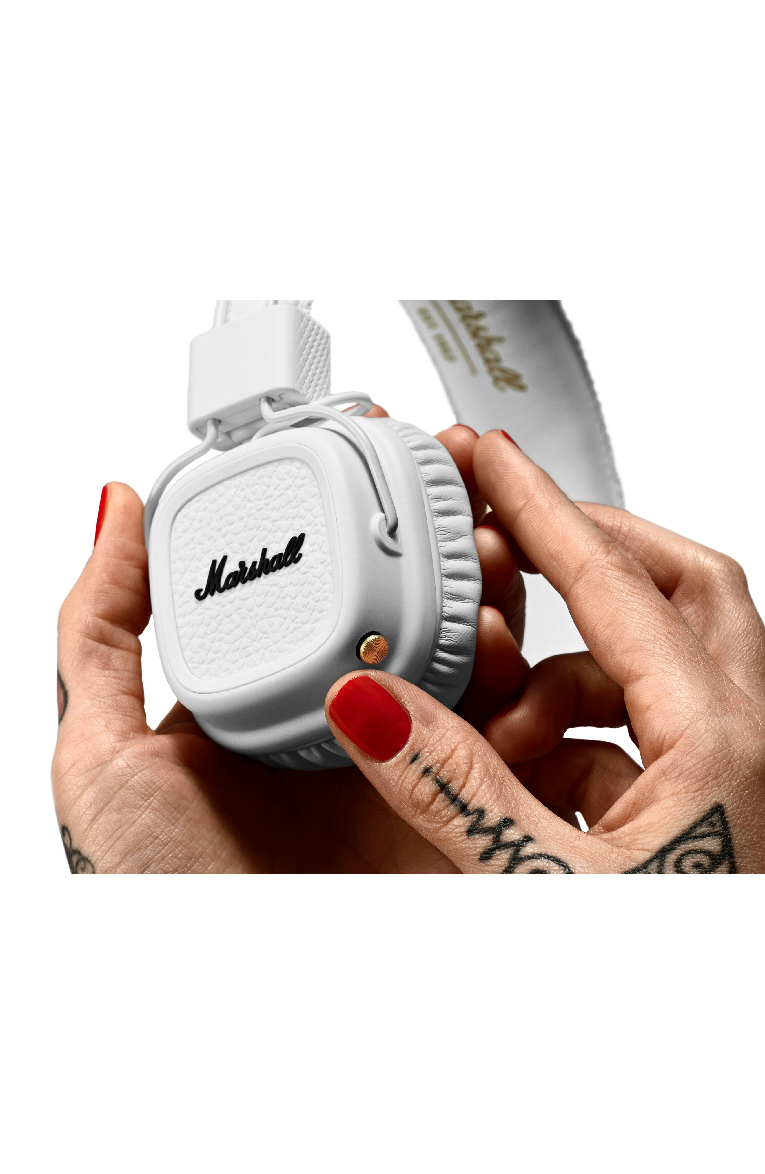 Major II Bluetooth<sup>®</sup> Headphones,                             Alternate thumbnail 4, color,                             100