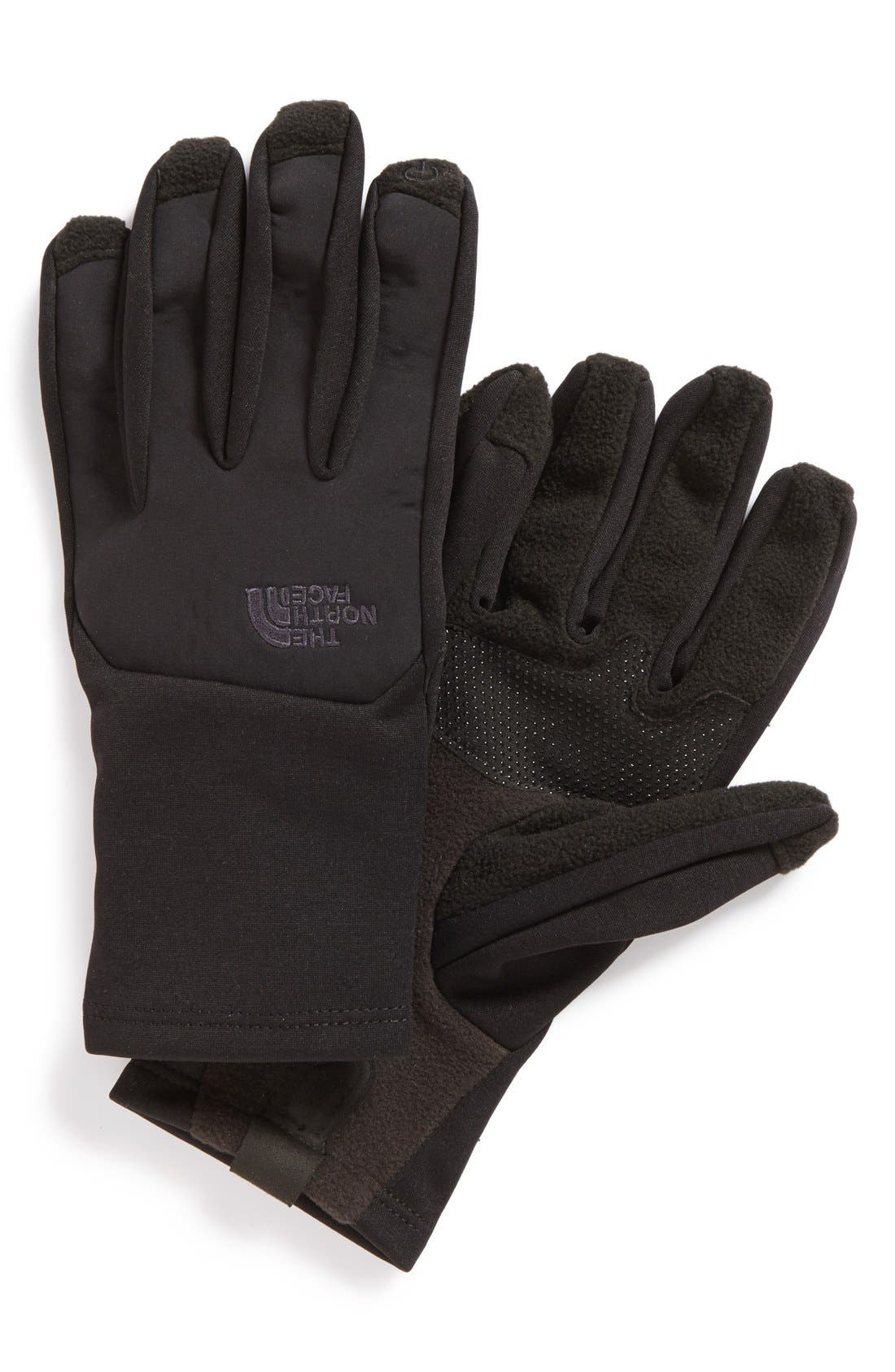 'Canyonwall' Etip Gloves,                             Main thumbnail 1, color,