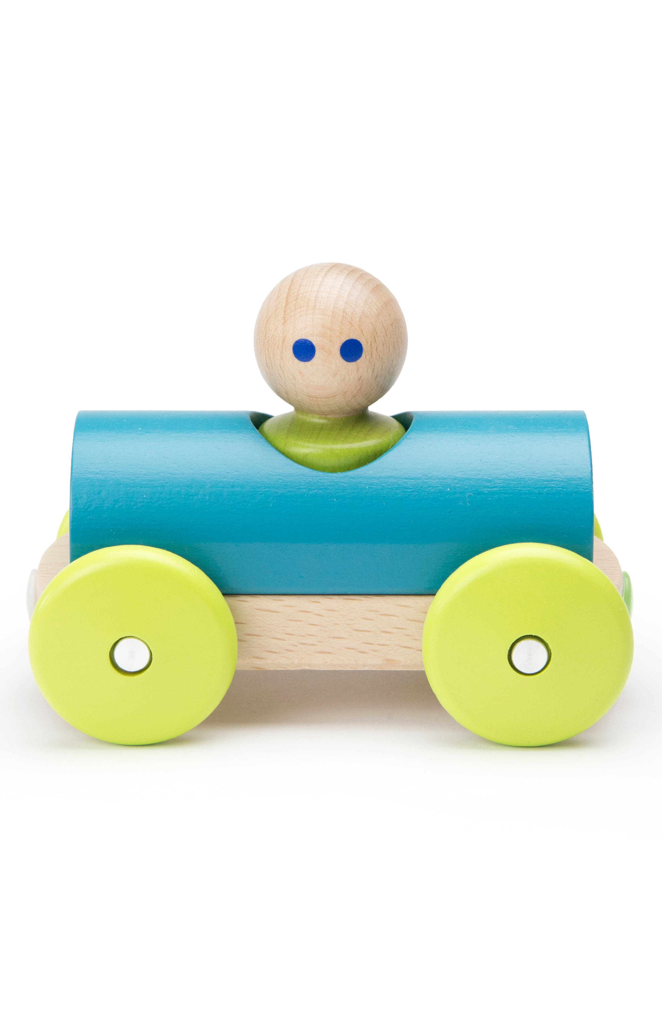 Half Pipe Magnetic Racer Toy,                             Alternate thumbnail 8, color,                             RAINBOW