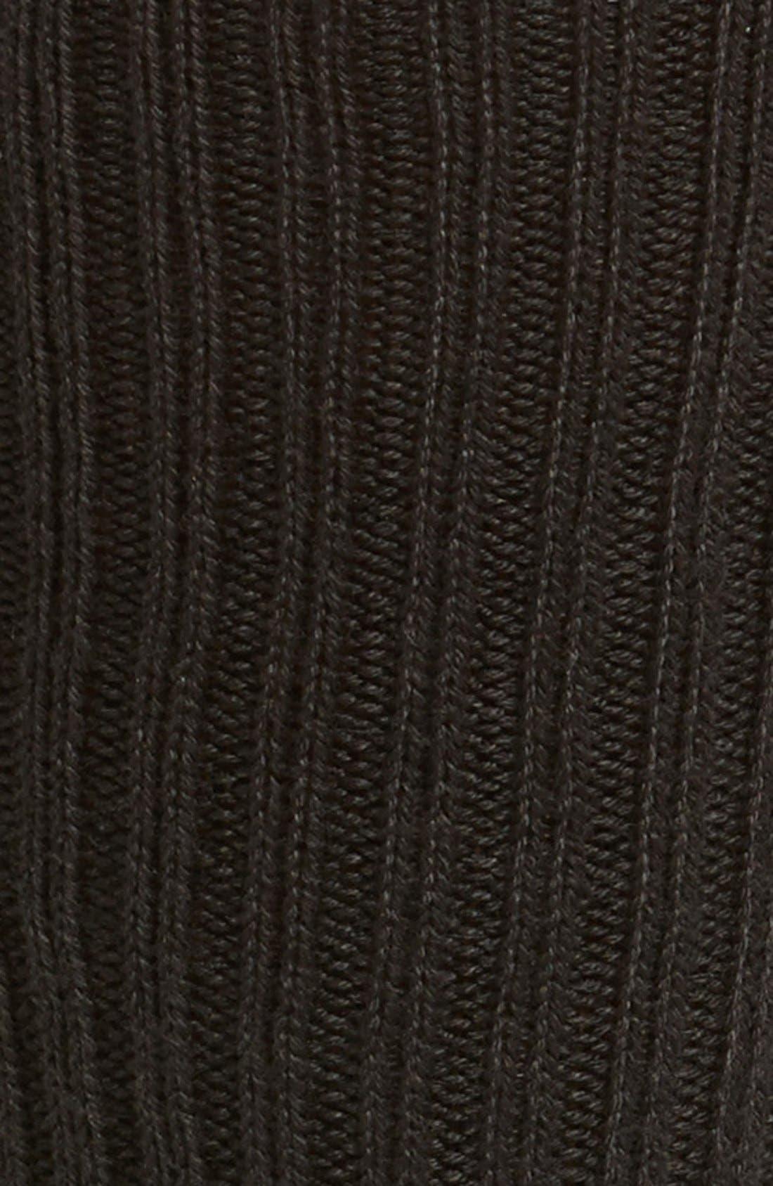 3-Pack Casual Socks,                             Alternate thumbnail 2, color,                             BLACK