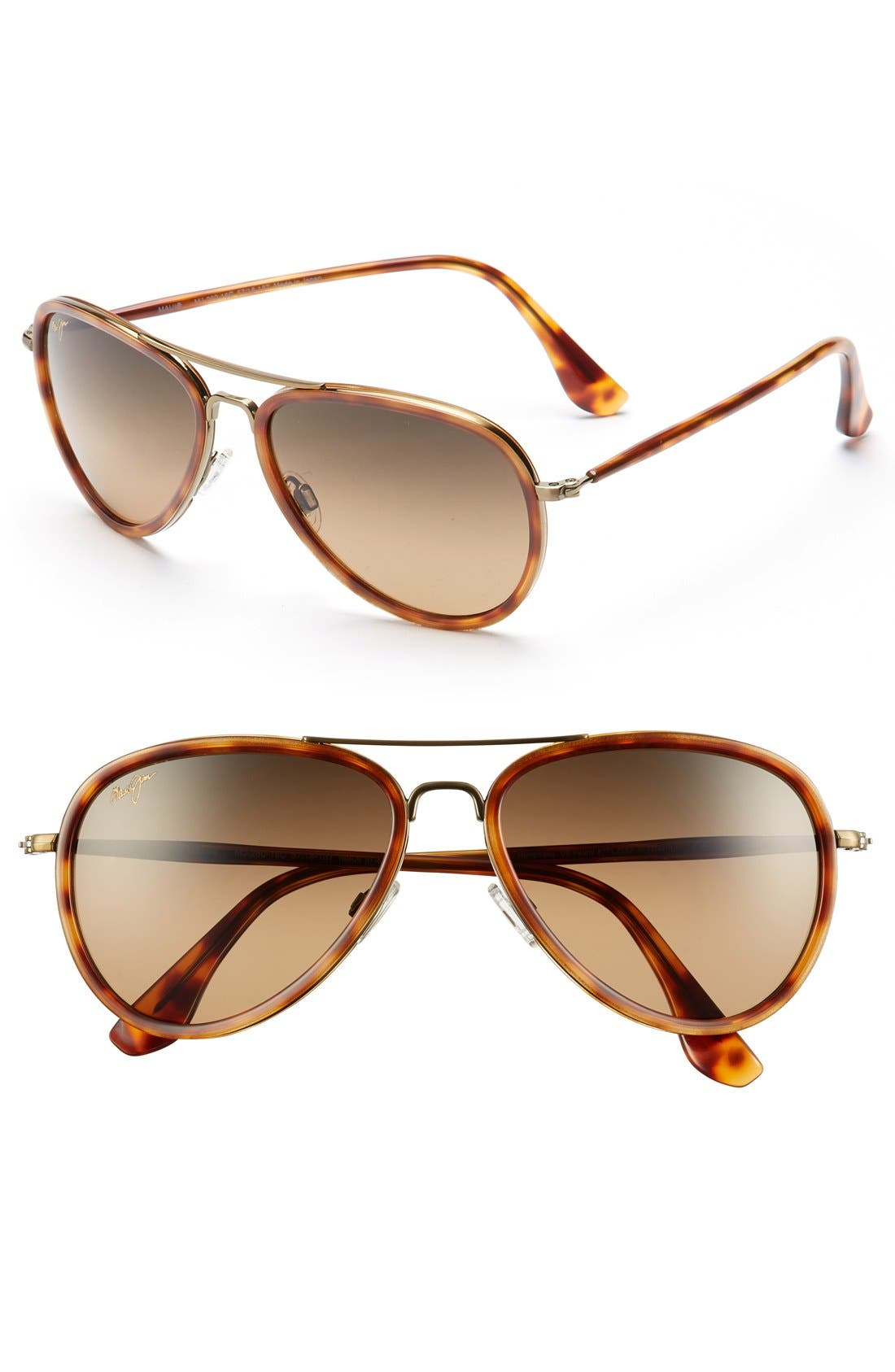 Honomanu 57mm PolarizedPlus2<sup>®</sup> Sunglasses,                             Main thumbnail 1, color,                             710