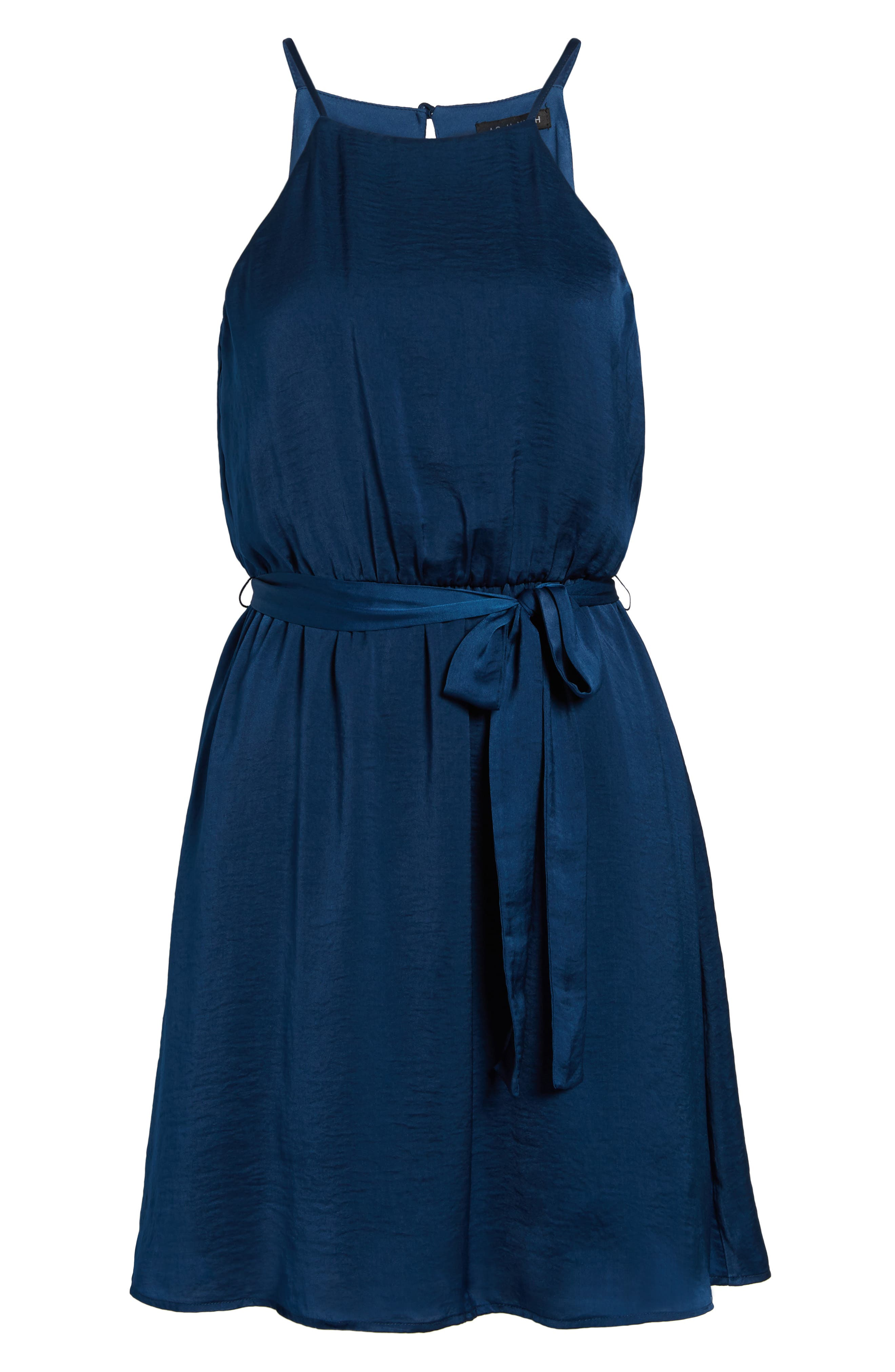 As You Wish Tie Waist Dress,                             Alternate thumbnail 6, color,                             400