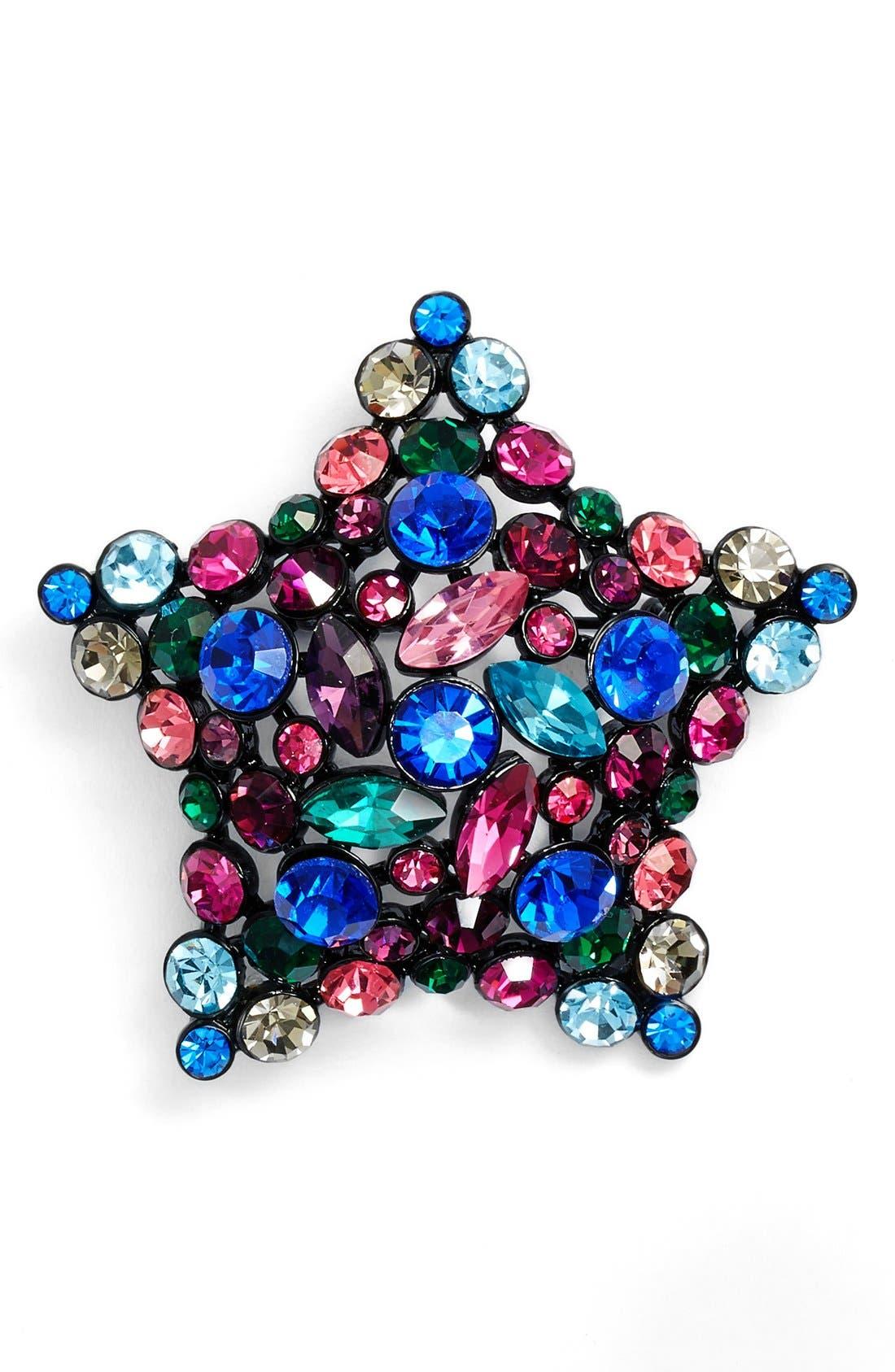 'bright star' brooch,                             Main thumbnail 1, color,                             400