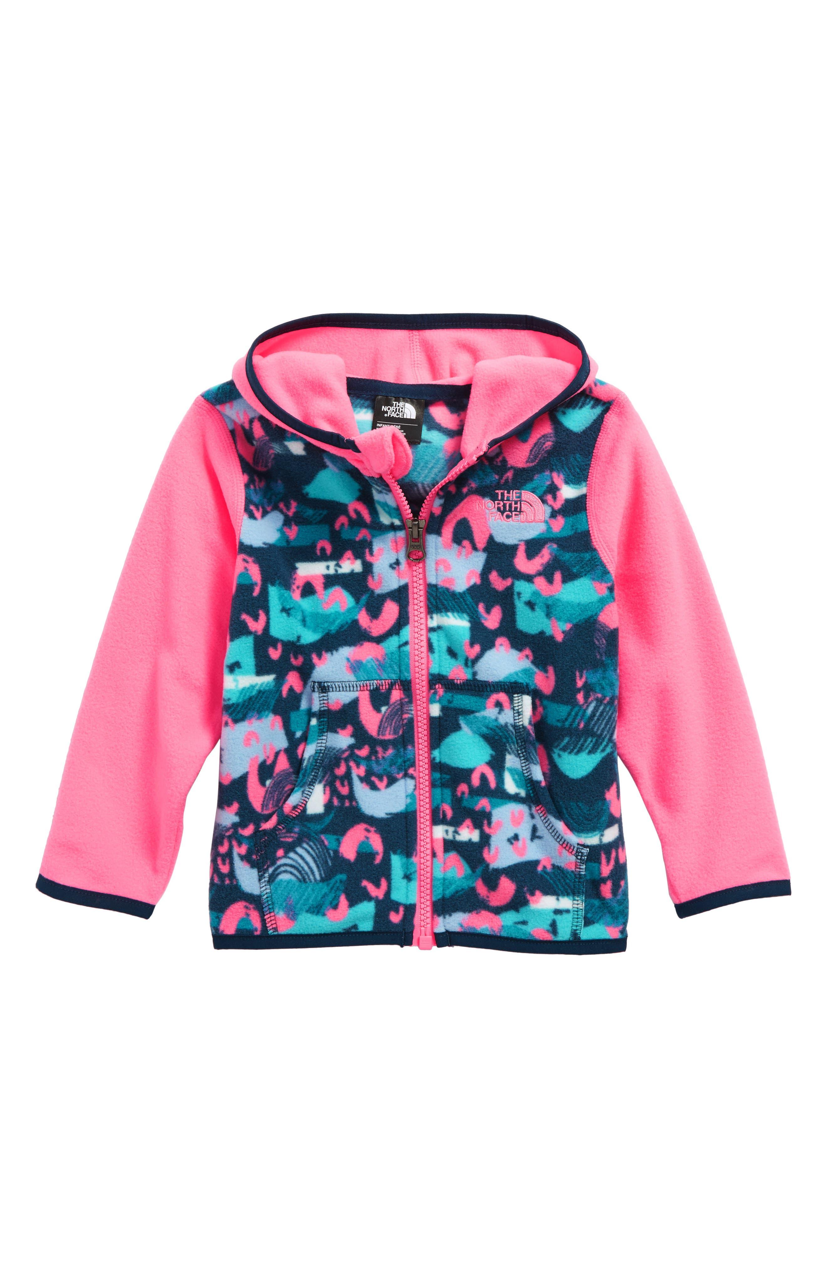 Glacier Hooded Fleece Jacket,                             Main thumbnail 1, color,                             401