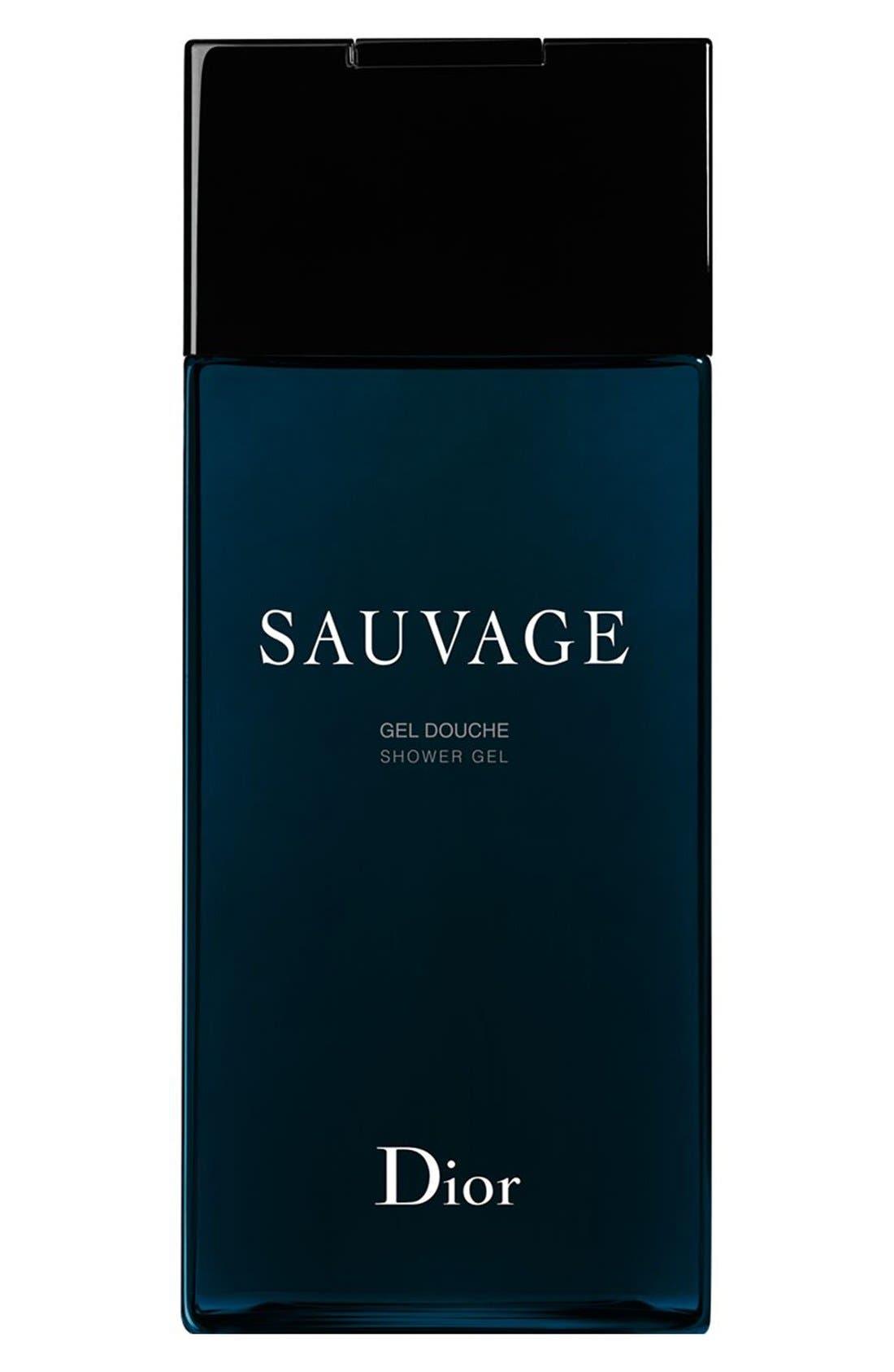 'Sauvage' Shower Gel,                             Main thumbnail 1, color,                             NO COLOR