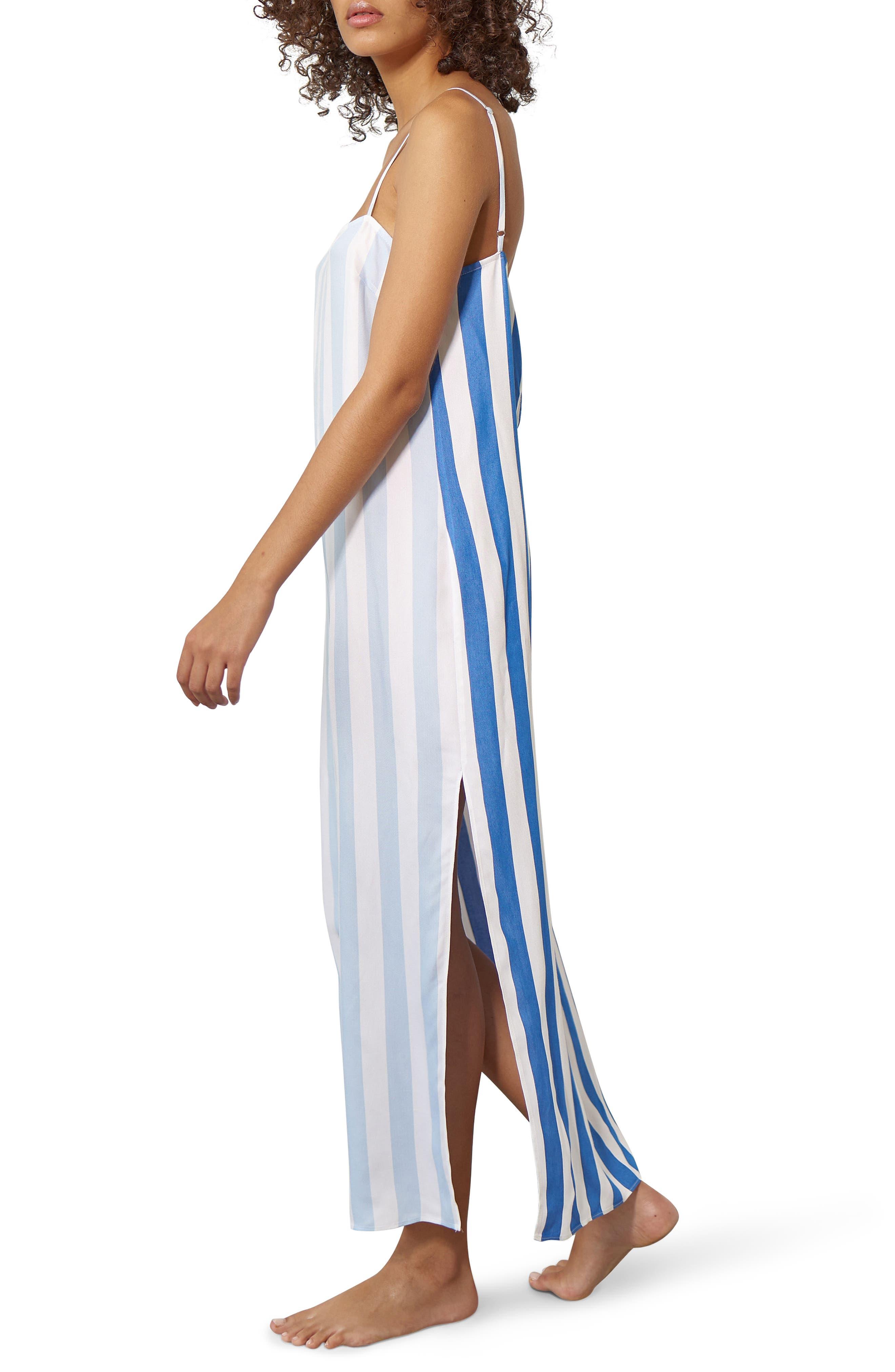 Sena Cover-Up Maxi Dress,                             Alternate thumbnail 3, color,                             400