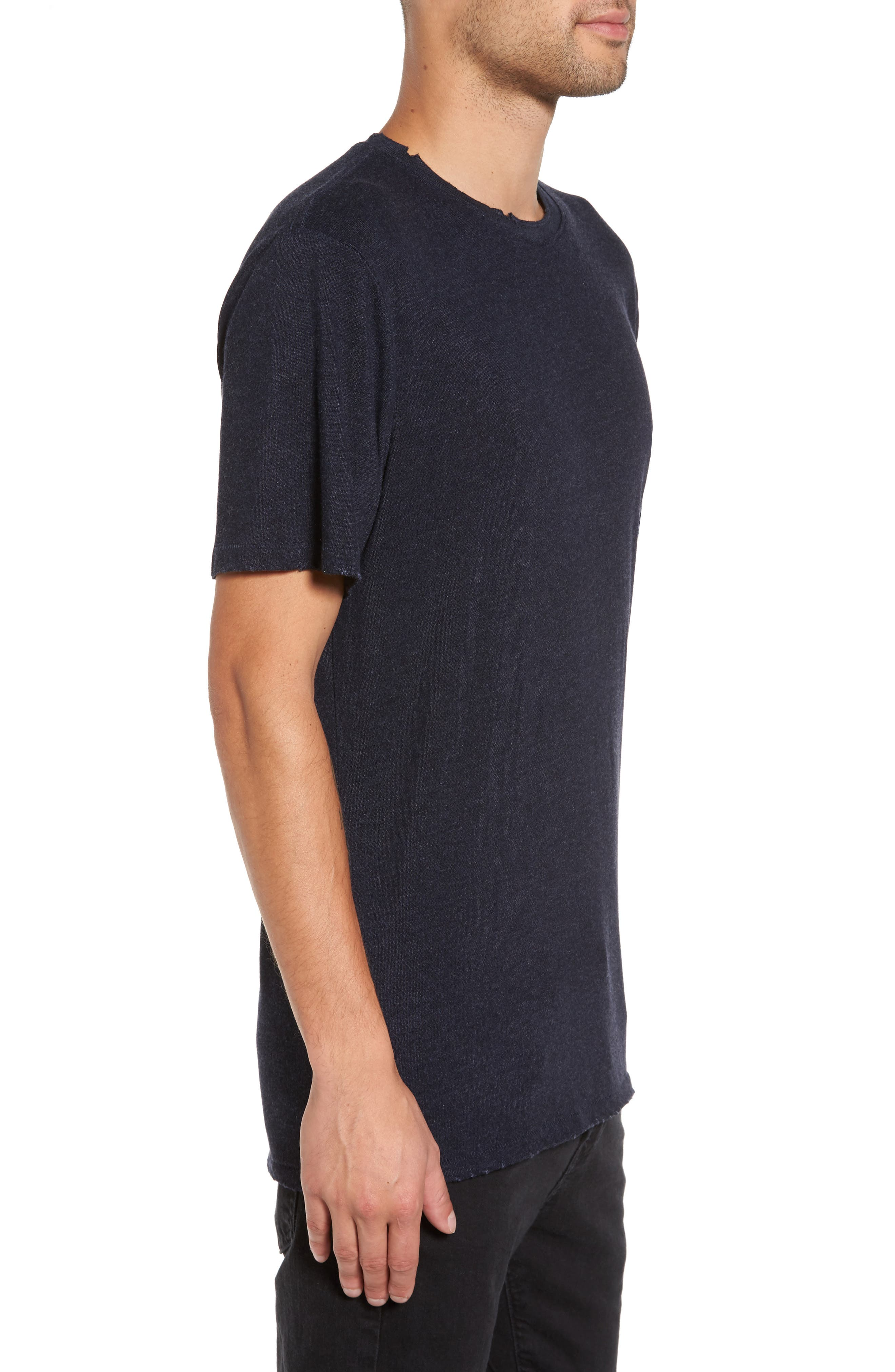 Core Crewneck T-Shirt,                             Alternate thumbnail 3, color,                             410