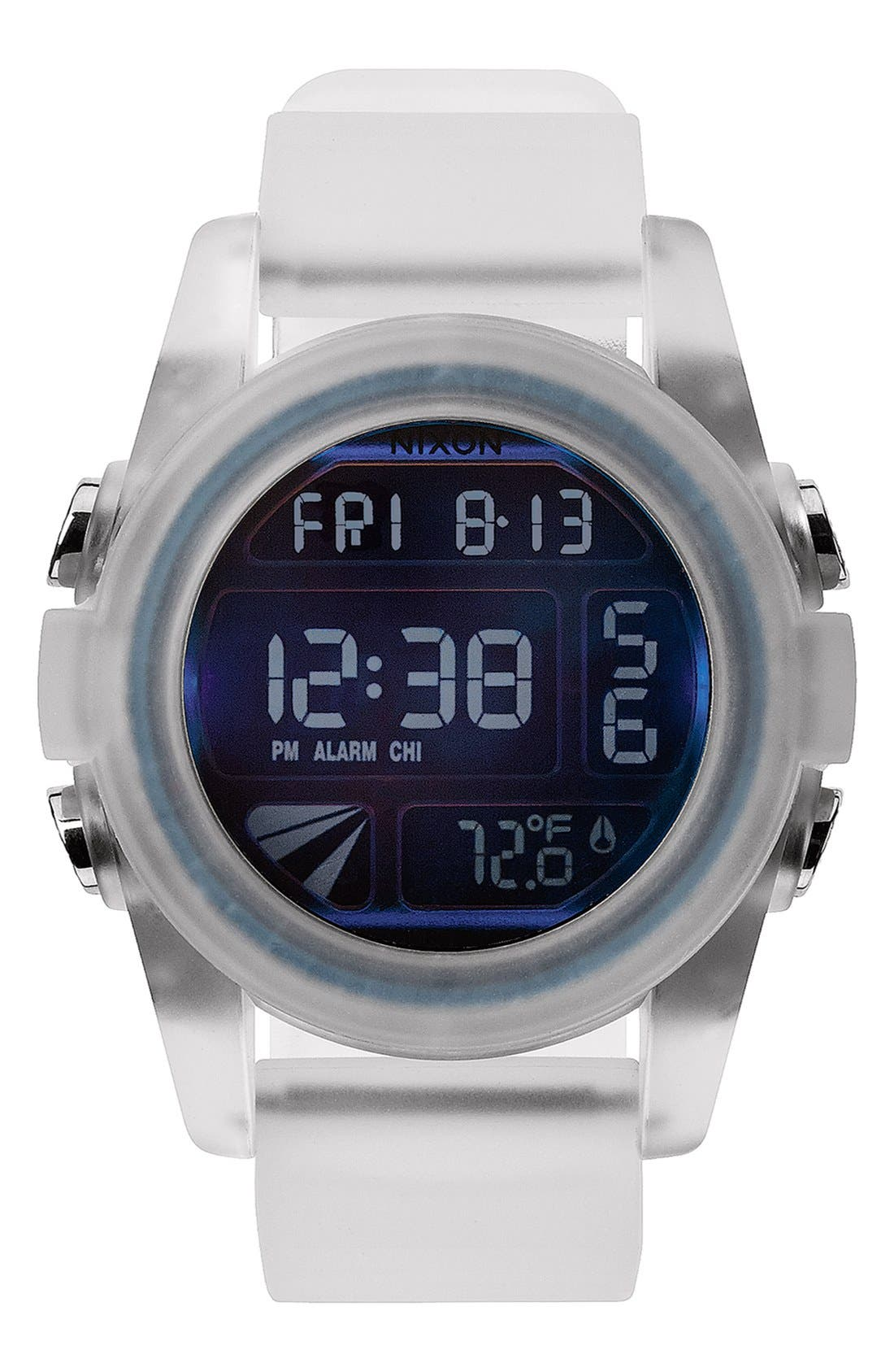 'The Unit' Round Digital Watch, 44mm,                             Main thumbnail 7, color,