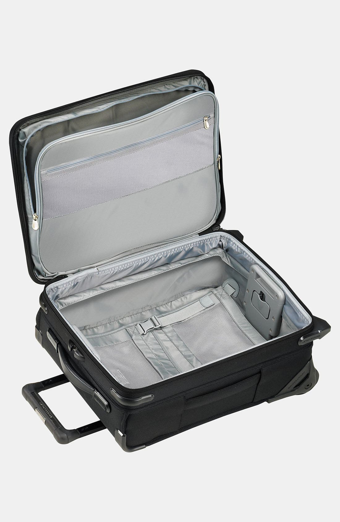 'Baseline - Commuter' Rolling Carry-On,                             Alternate thumbnail 3, color,