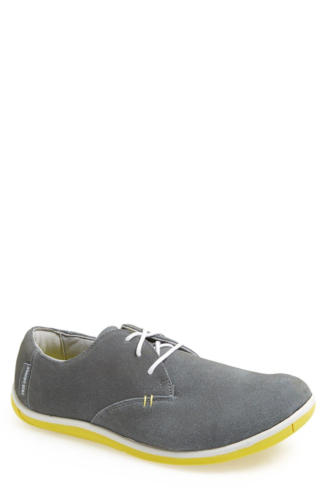 TRUE LINKSWEAR 'True Oxford' Golf Shoe, Main, color, 020