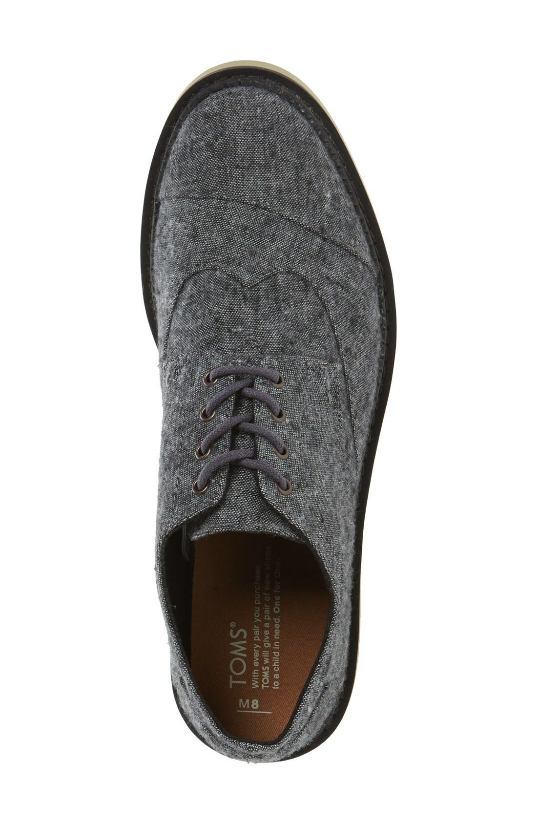 'Classic Brogue' Cotton Twill Derby,                             Alternate thumbnail 21, color,