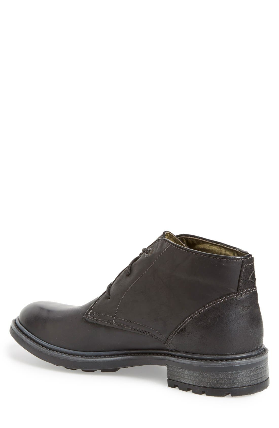 'Oscar 11' Chukka Boot,                             Alternate thumbnail 6, color,                             BLACK