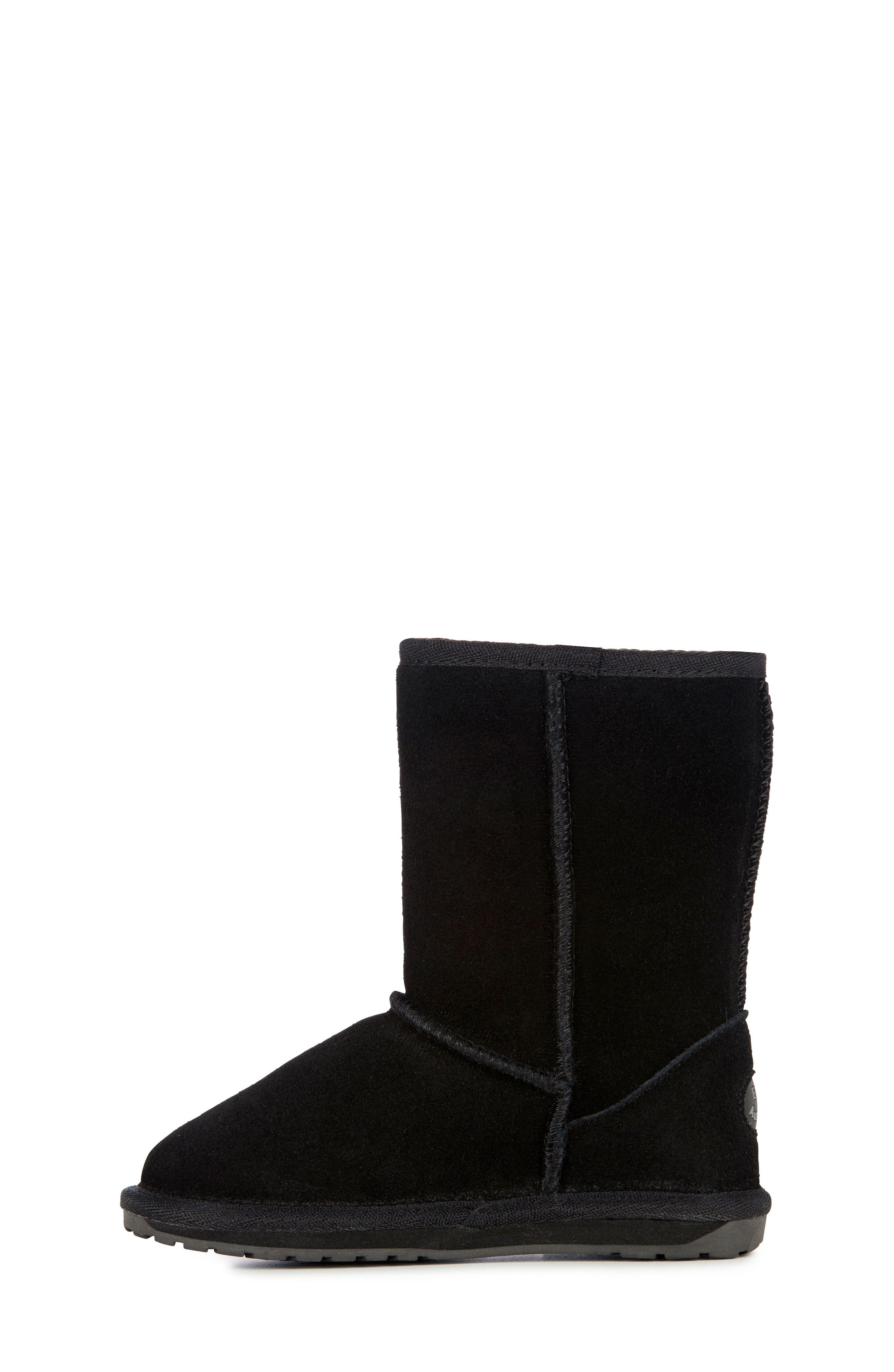 Wallaby Lo Boot,                             Alternate thumbnail 9, color,                             BLACK