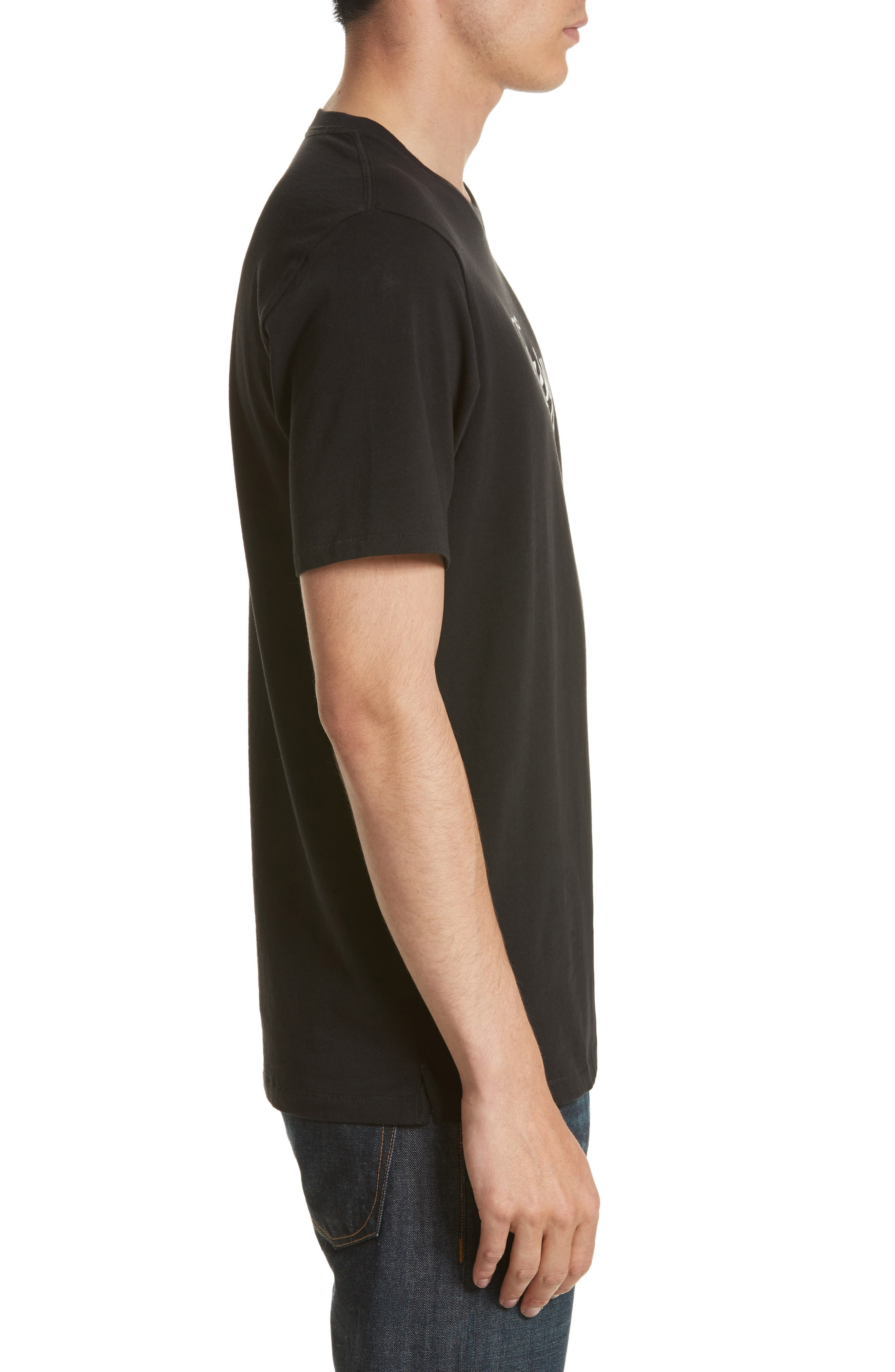 Easy Graphic T-Shirt,                             Alternate thumbnail 3, color,                             001