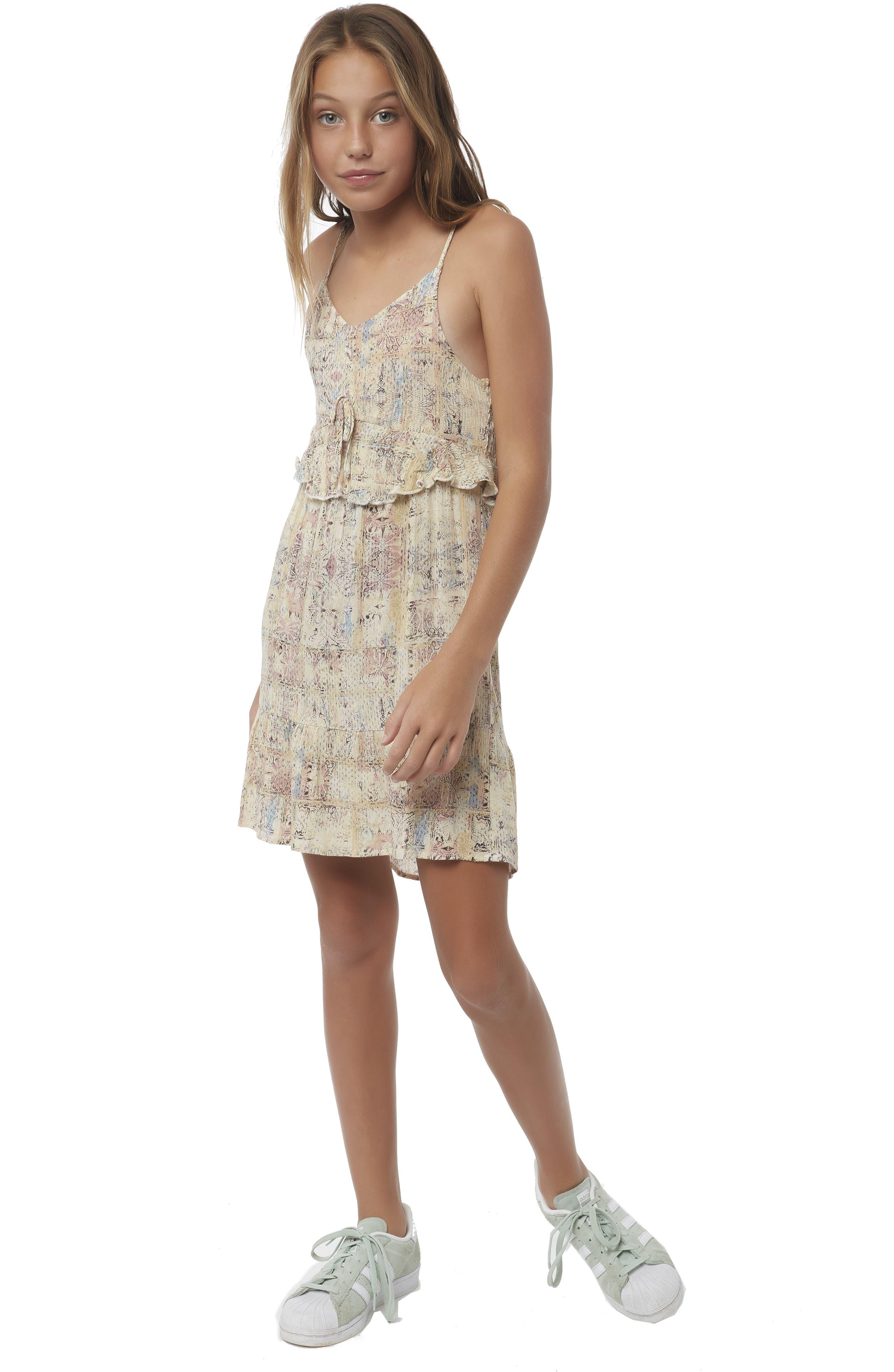 Lithia Peplum High/Low Dress,                             Alternate thumbnail 2, color,                             MULTI COLORED