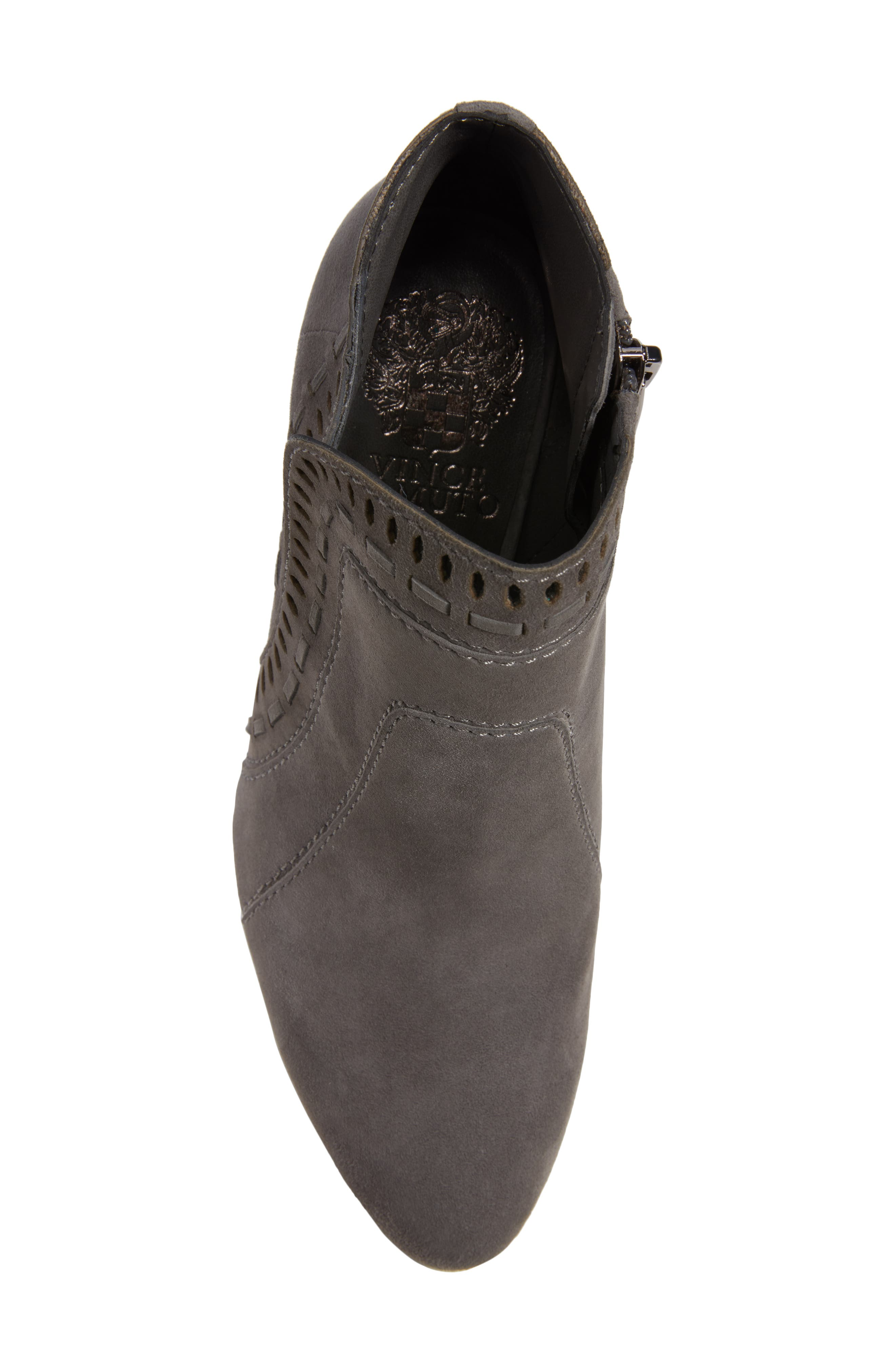 Reeista Bootie,                             Alternate thumbnail 5, color,                             GREYSTONE SUEDE