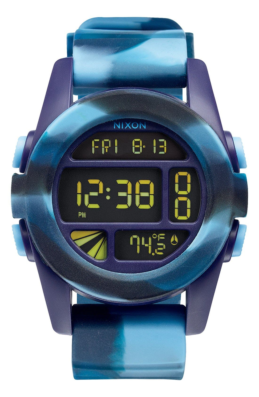 'The Unit' Round Digital Watch, 44mm,                             Main thumbnail 12, color,