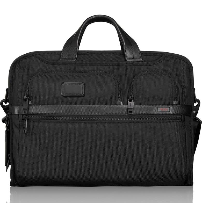 Tumi Alpha 2 Laptop Briefcase with Tumi ID Lock Pocket  402658834f344