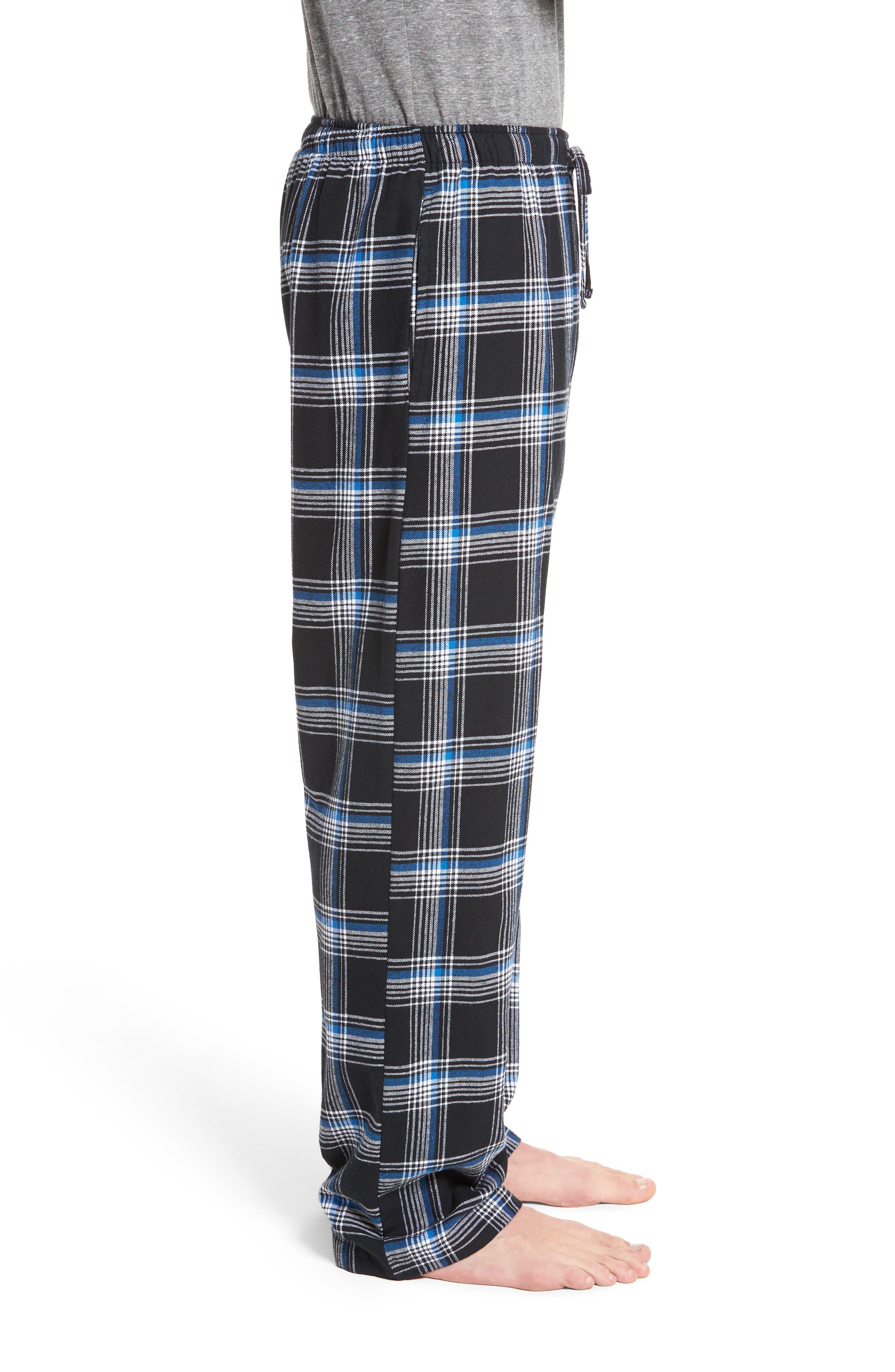 Flannel Pajama Pants,                             Alternate thumbnail 32, color,