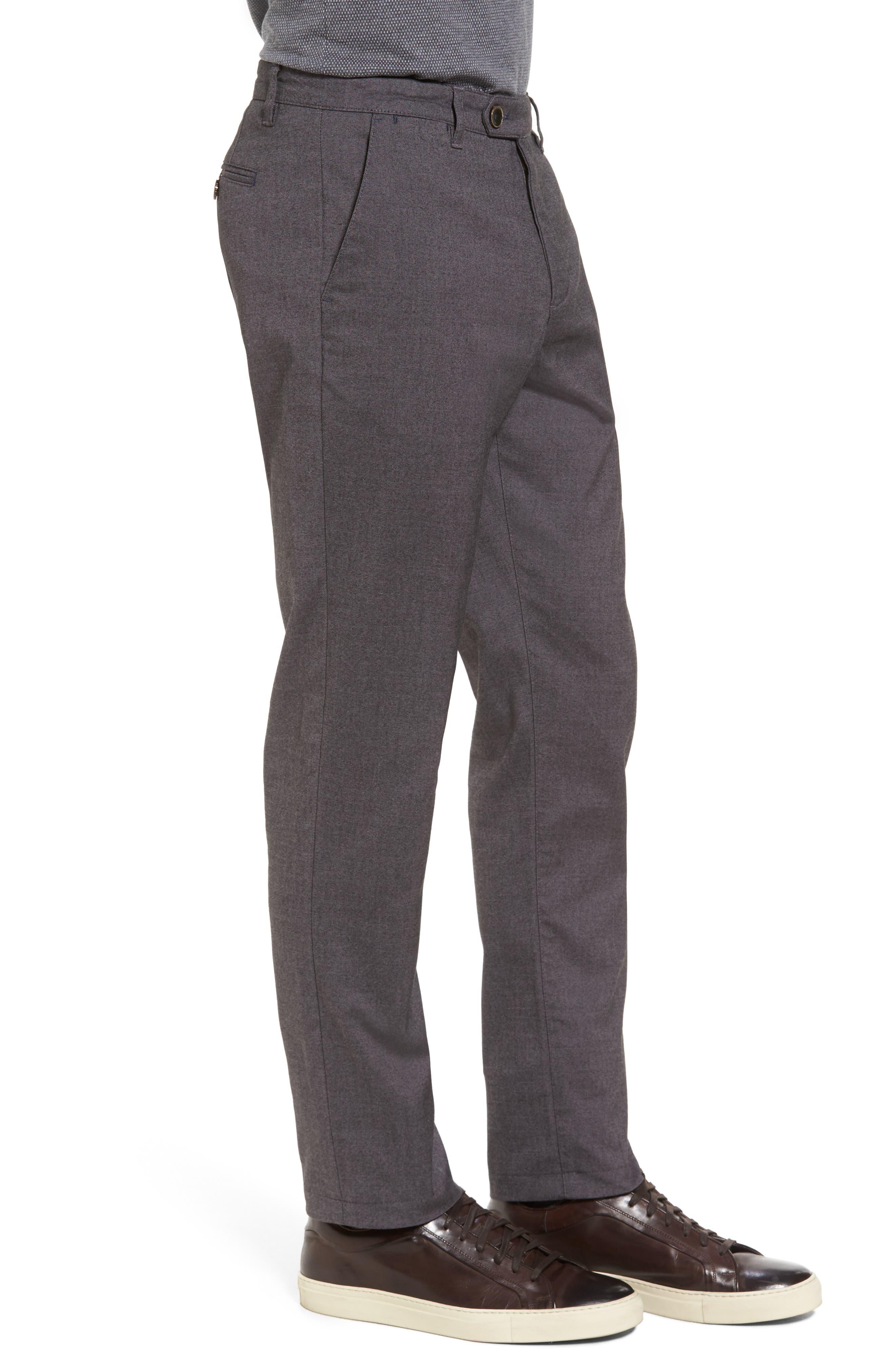 Modern Slim Fit Trousers,                             Alternate thumbnail 3, color,                             010