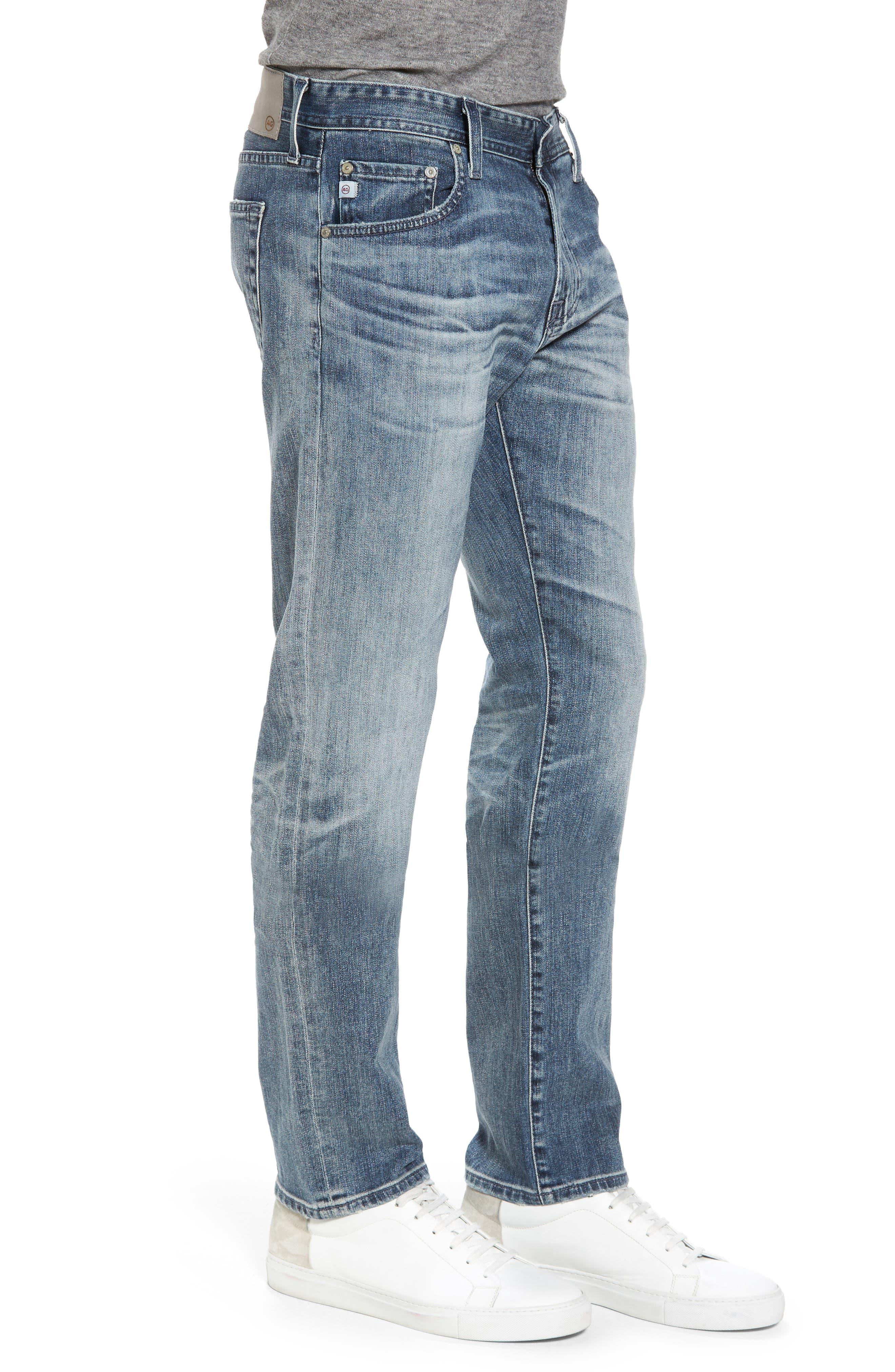 Tellis Slim Fit Jeans,                             Alternate thumbnail 3, color,                             487