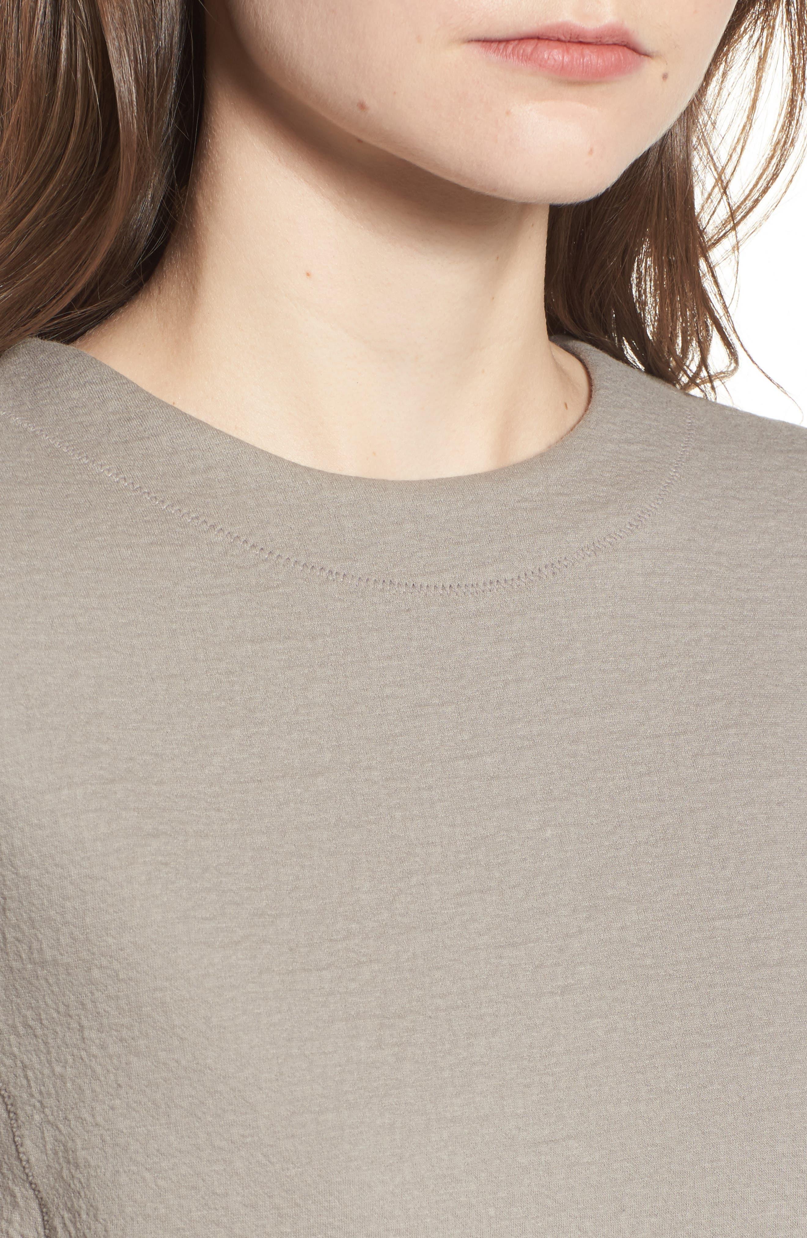 Scuba T-Shirt Dress,                             Alternate thumbnail 8, color,